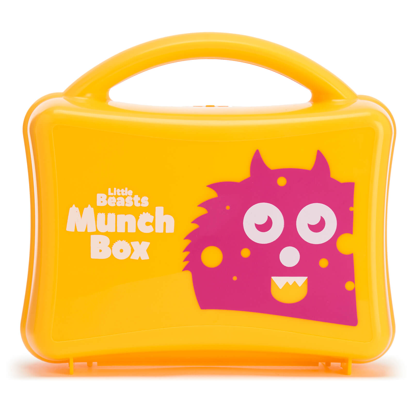 Little Beasts Girls Munch Box - Yellow
