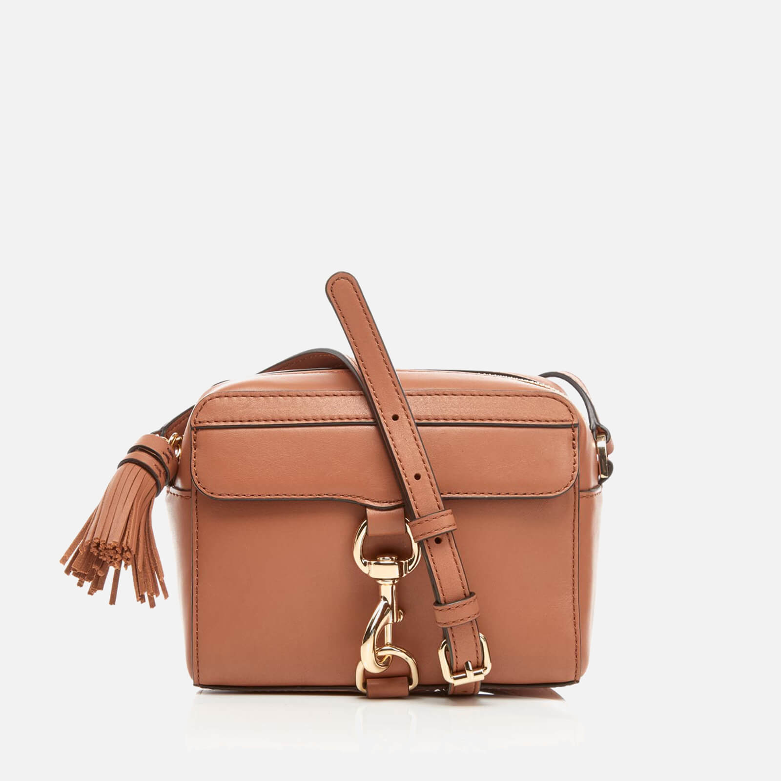 6867b3cf53 Rebecca Minkoff Women s M.A.B Camera Bag - Almond - Free UK Delivery over  £50