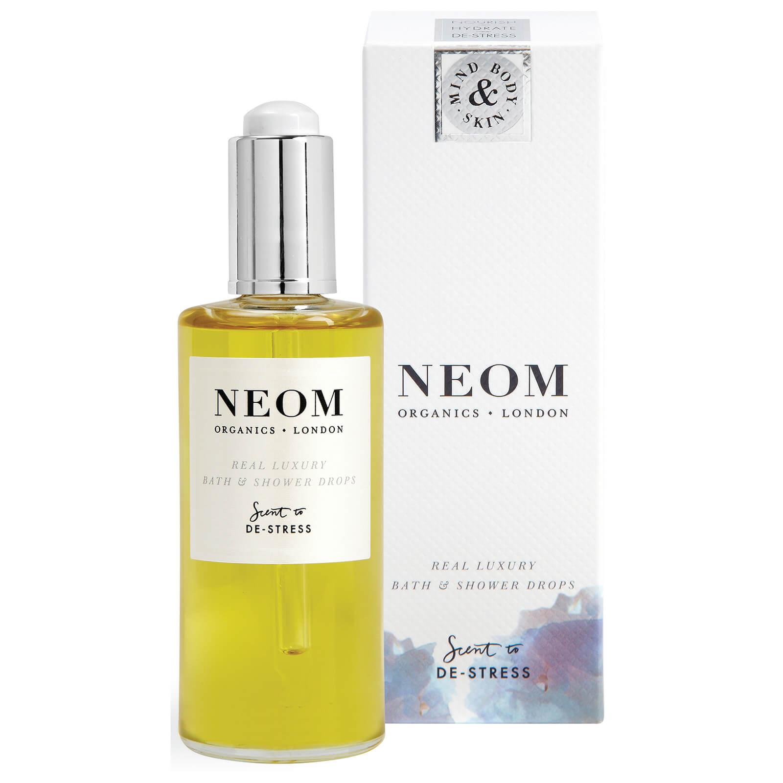 Neom Real Luxury Bath Shower Drops Beautyexpert Hippo Halter 05 Universal Mount Car Holder Mobil Black