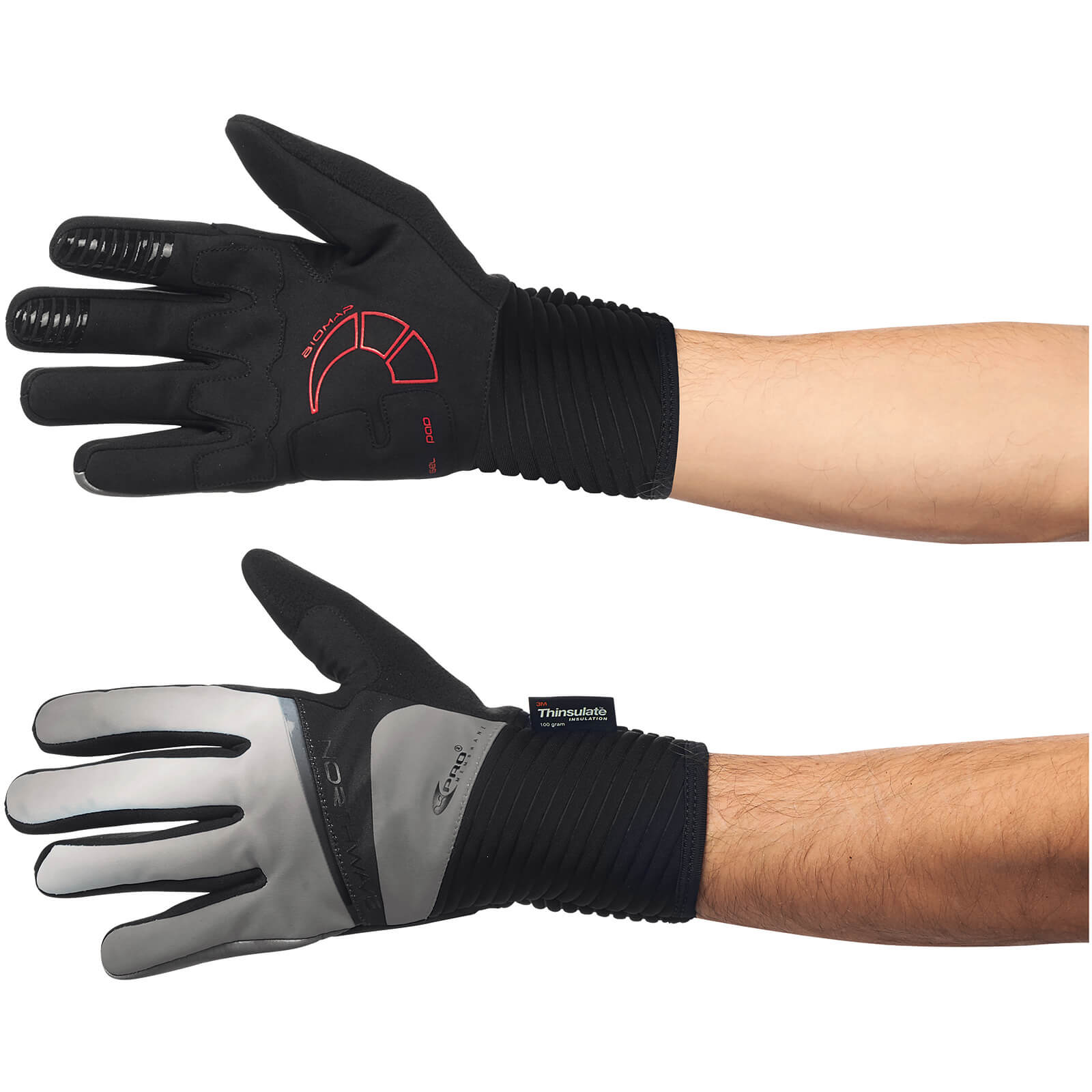 Northwave Sonic Winter Gloves - Reflective
