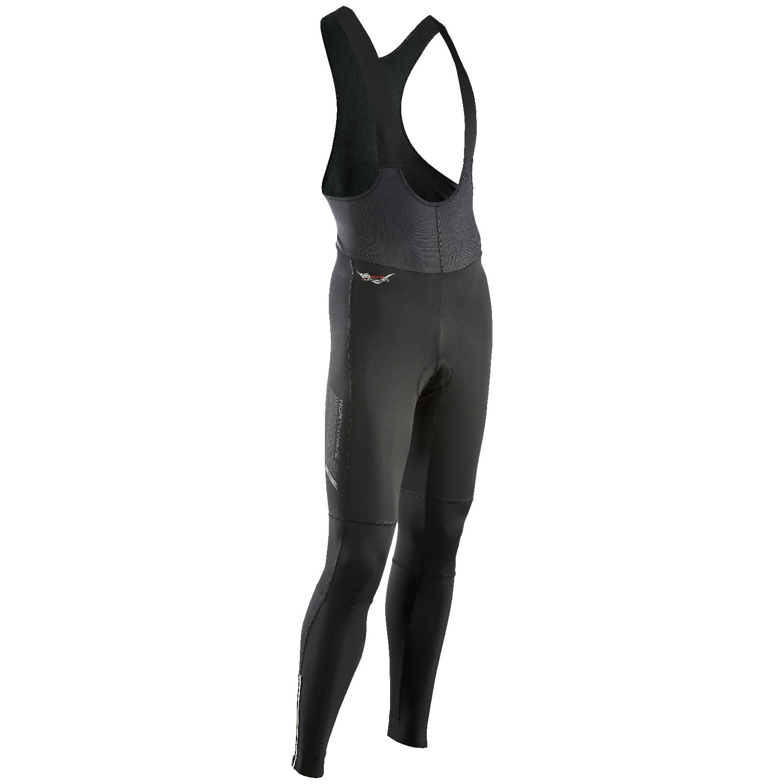 Northwave Fast Mid Season Bib Tights - Black