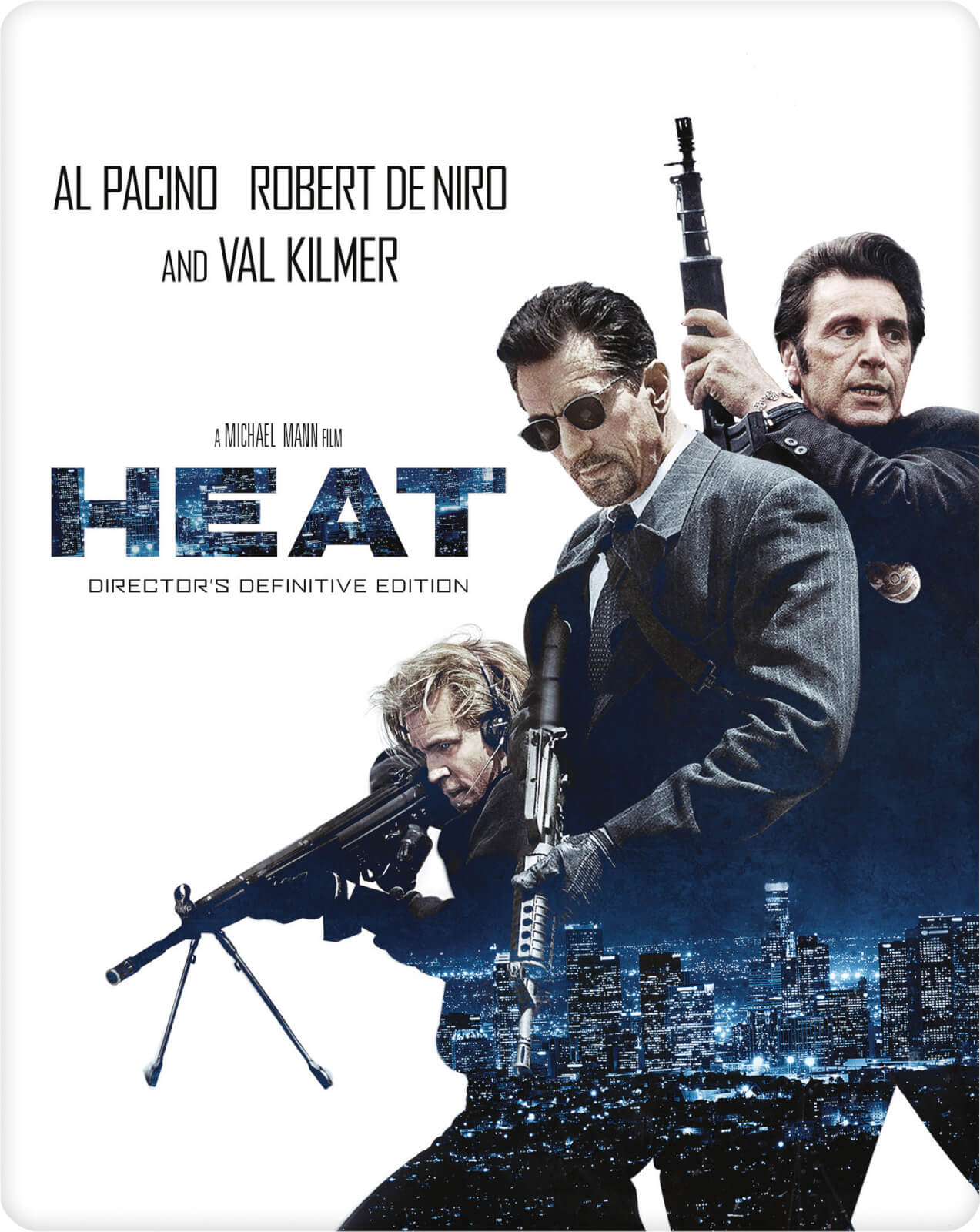 Heat (2 disques) - Steelbook d