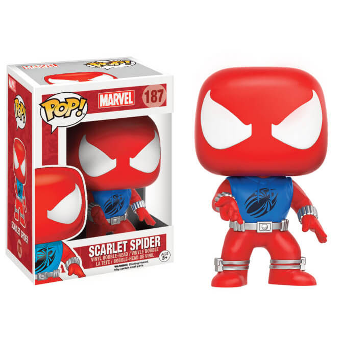 Marvel Comics Scarlet Spider LE Pop! Vinyl Figure