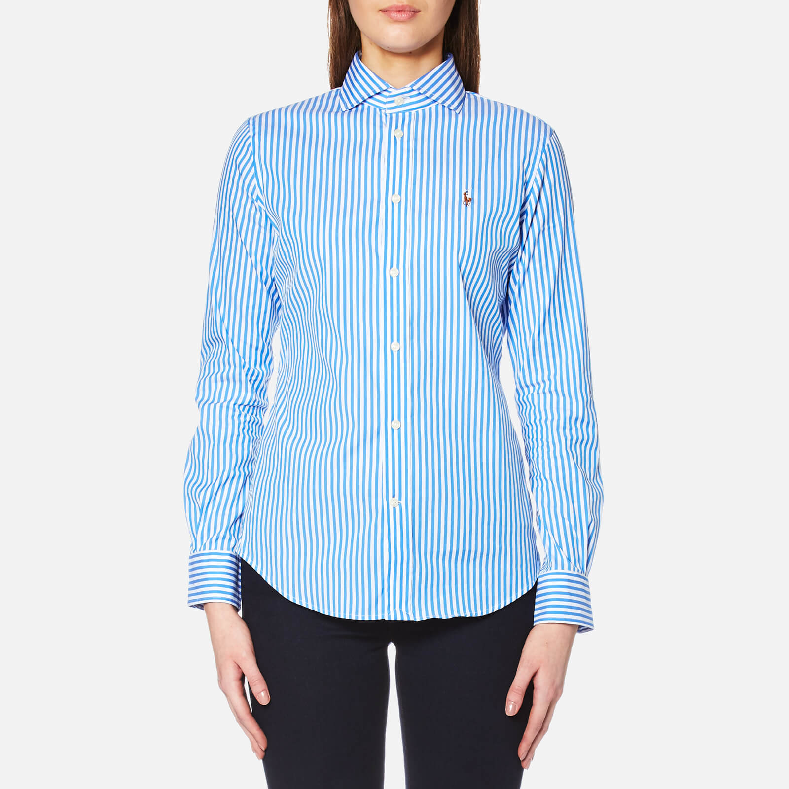 f0dc2f47a8 Polo Ralph Lauren Women's Kendal Stripe Shirt - Blue/White