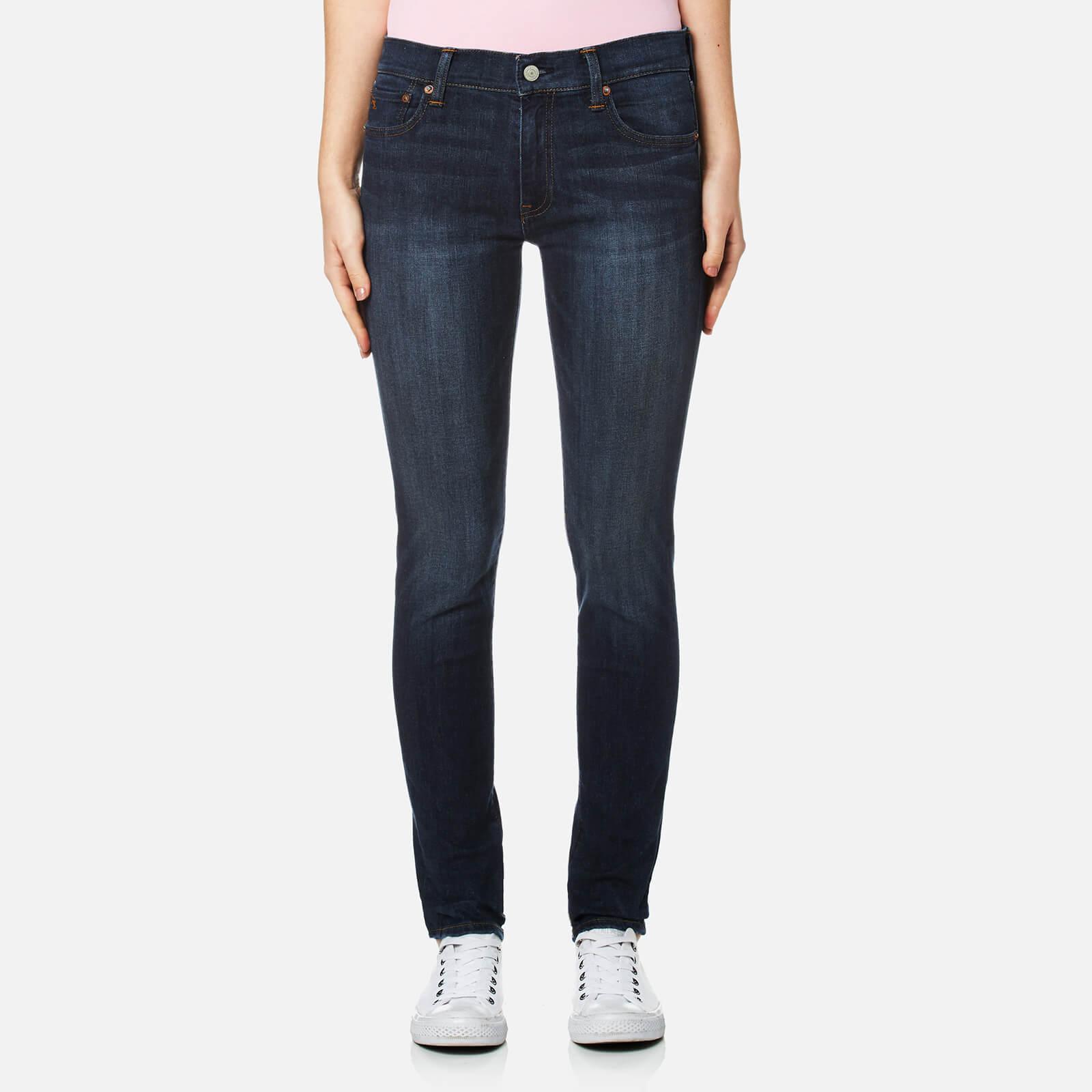 Ralph Tompkins Lauren Dark Jeans Polo Women's Indigo Skinny QxtrdBhCs