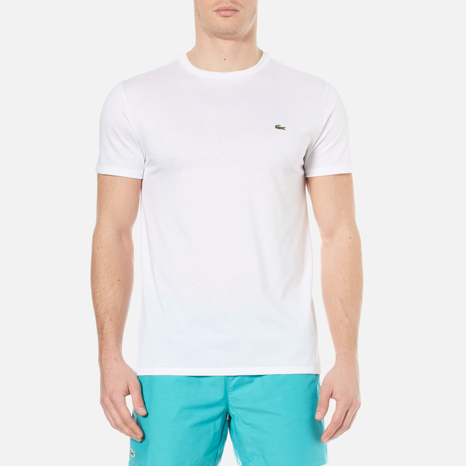 c9650f807934 Lacoste Men s Classic Pima T-Shirt - White - Free UK Delivery over £50