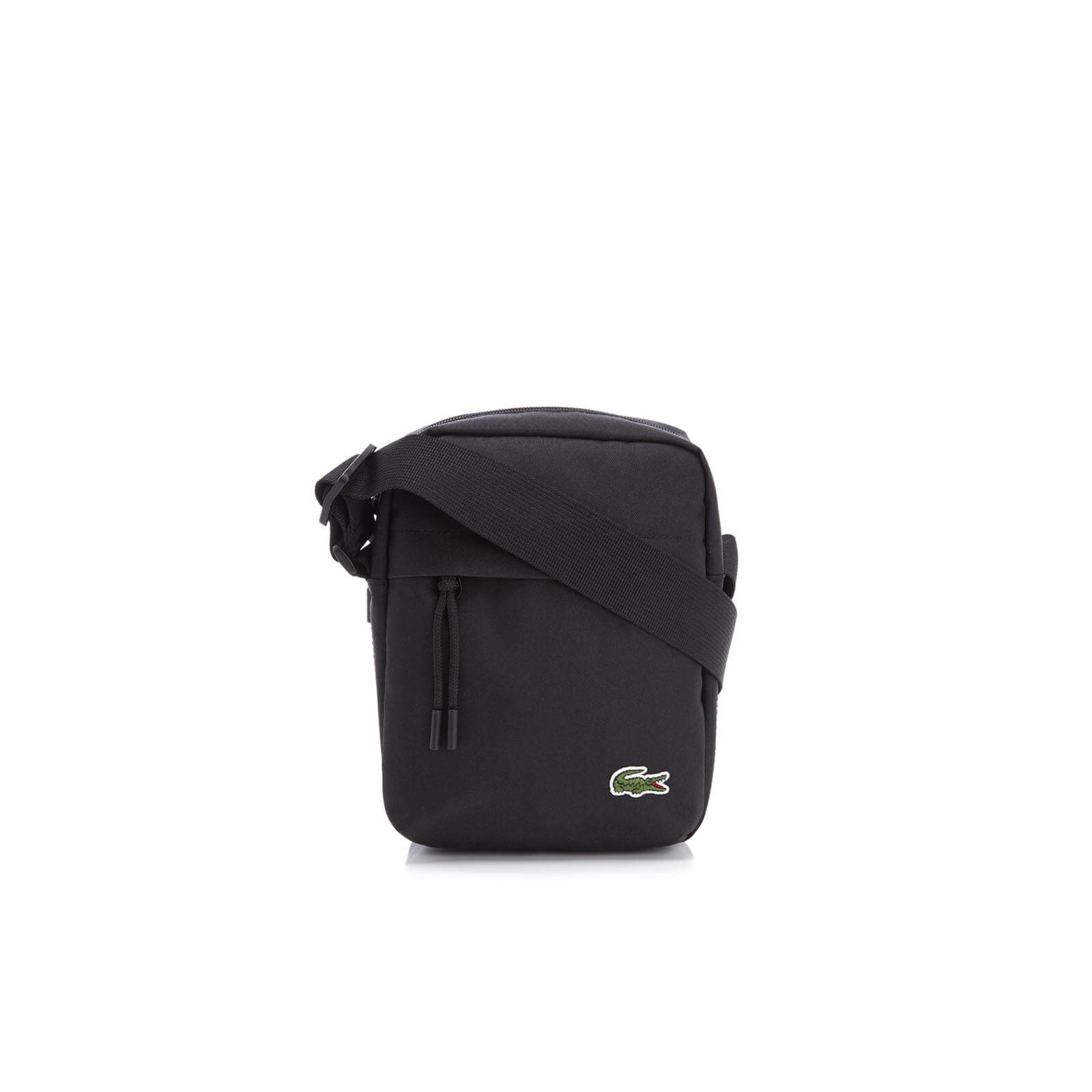 378cbd61 Lacoste Men's Vertical Camera Bag - Black