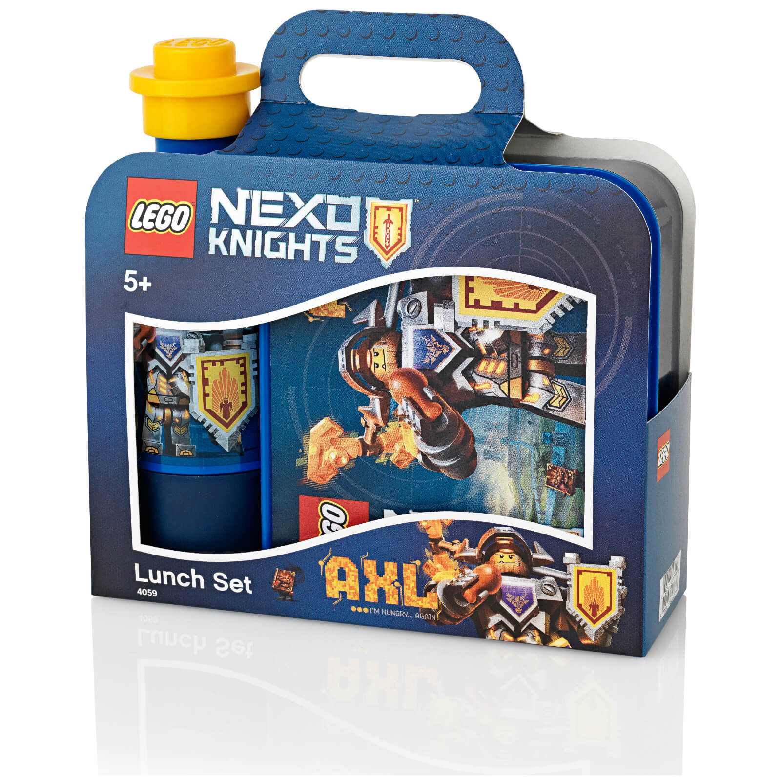 LEGO Nexo Knights Lunch Set (Drinking Bottle and Lunch Box)
