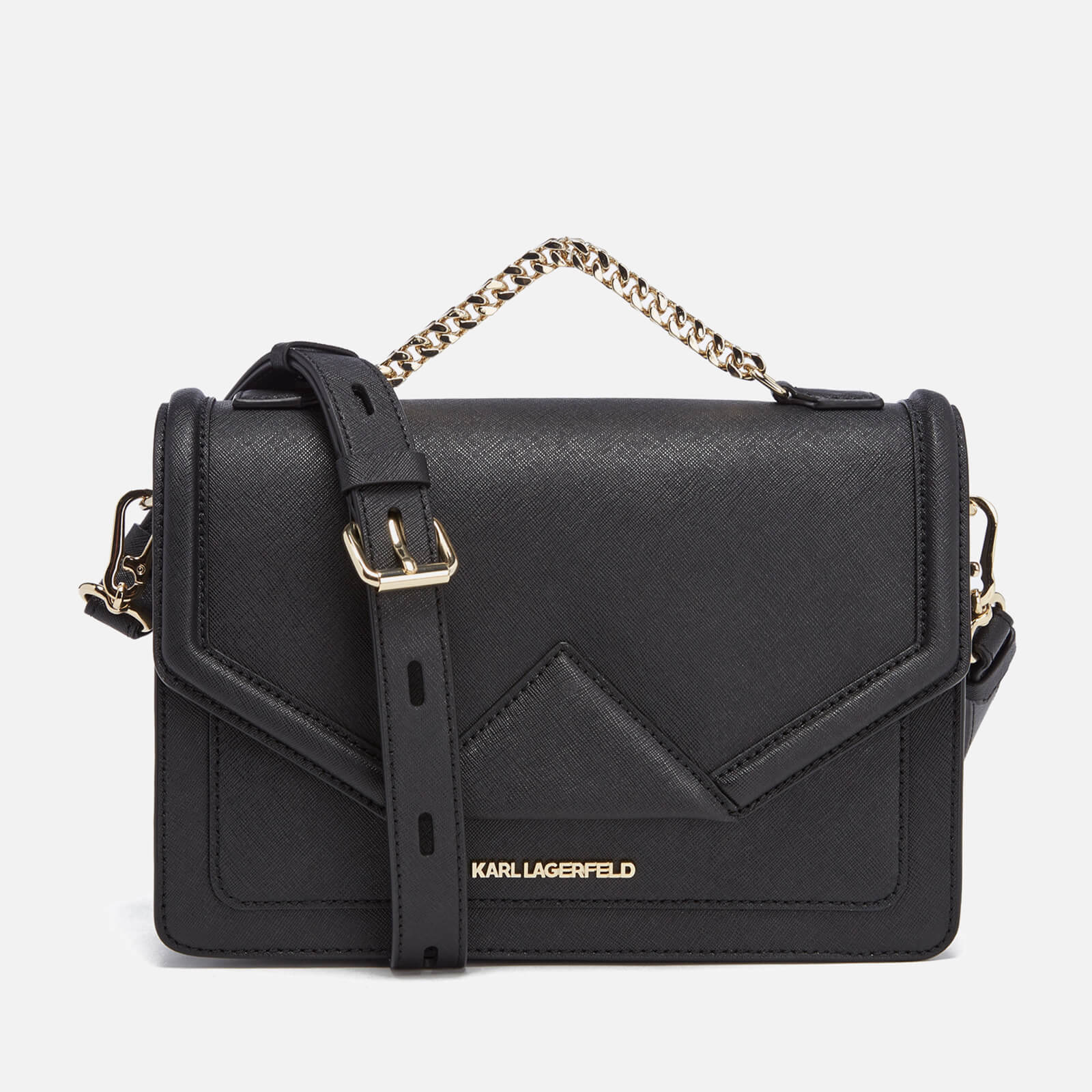 71dda4784 Karl Lagerfeld Women's K/Klassik Shoulder Bag - Black - Free UK Delivery  over £50
