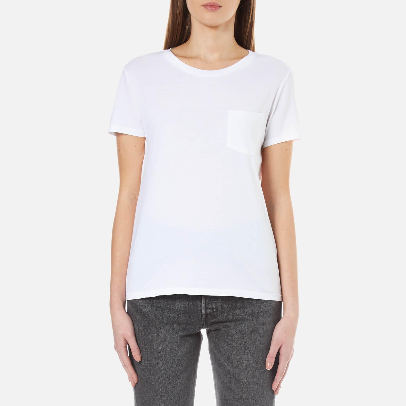 2f7229bf3e8d Levi's Women's The Perfect Crew T-Shirt - White Womens Clothing   TheHut.com