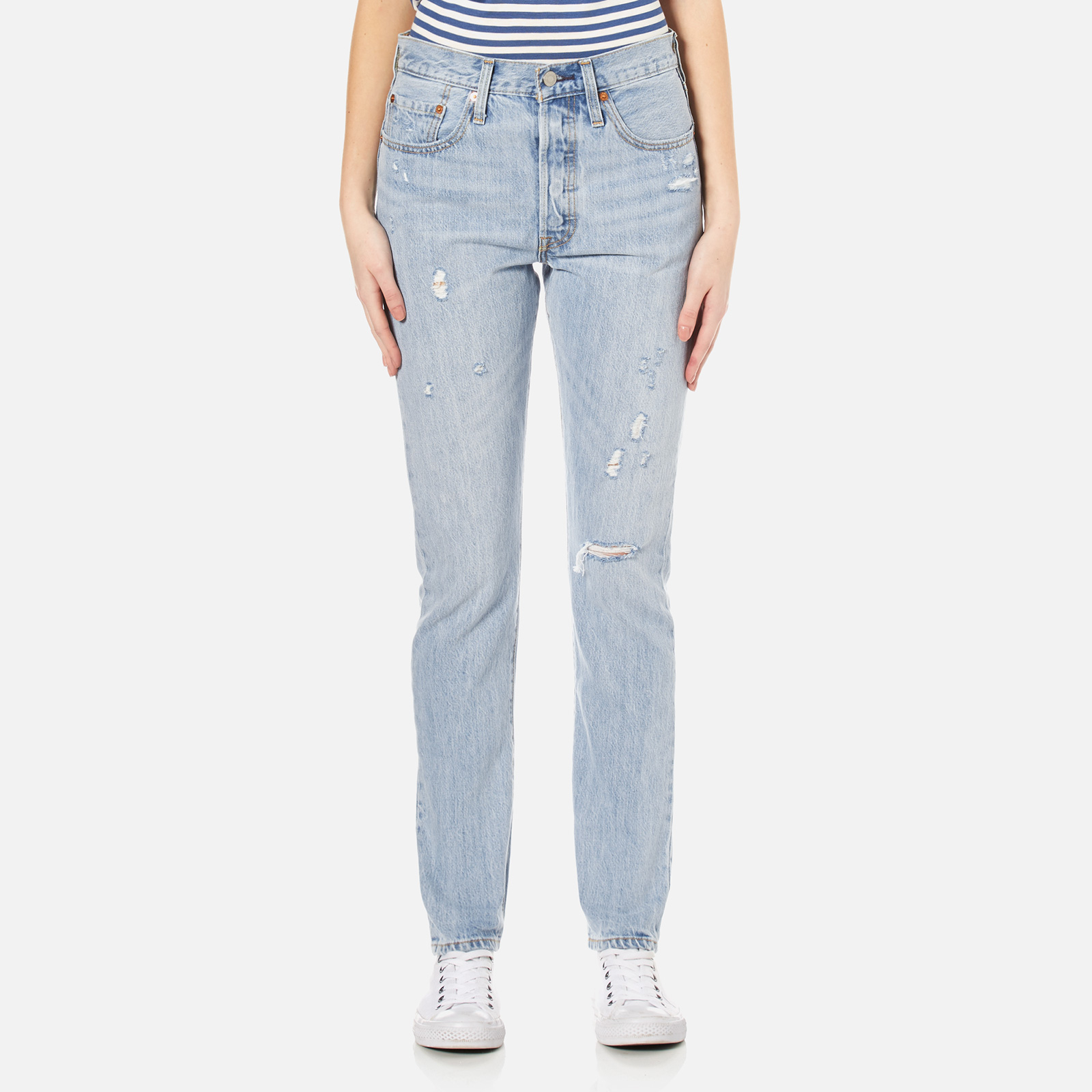 e213f42c0f4 Levi's Women's 501 Skinny Jeans - Clear Minds - Free UK Delivery over £50
