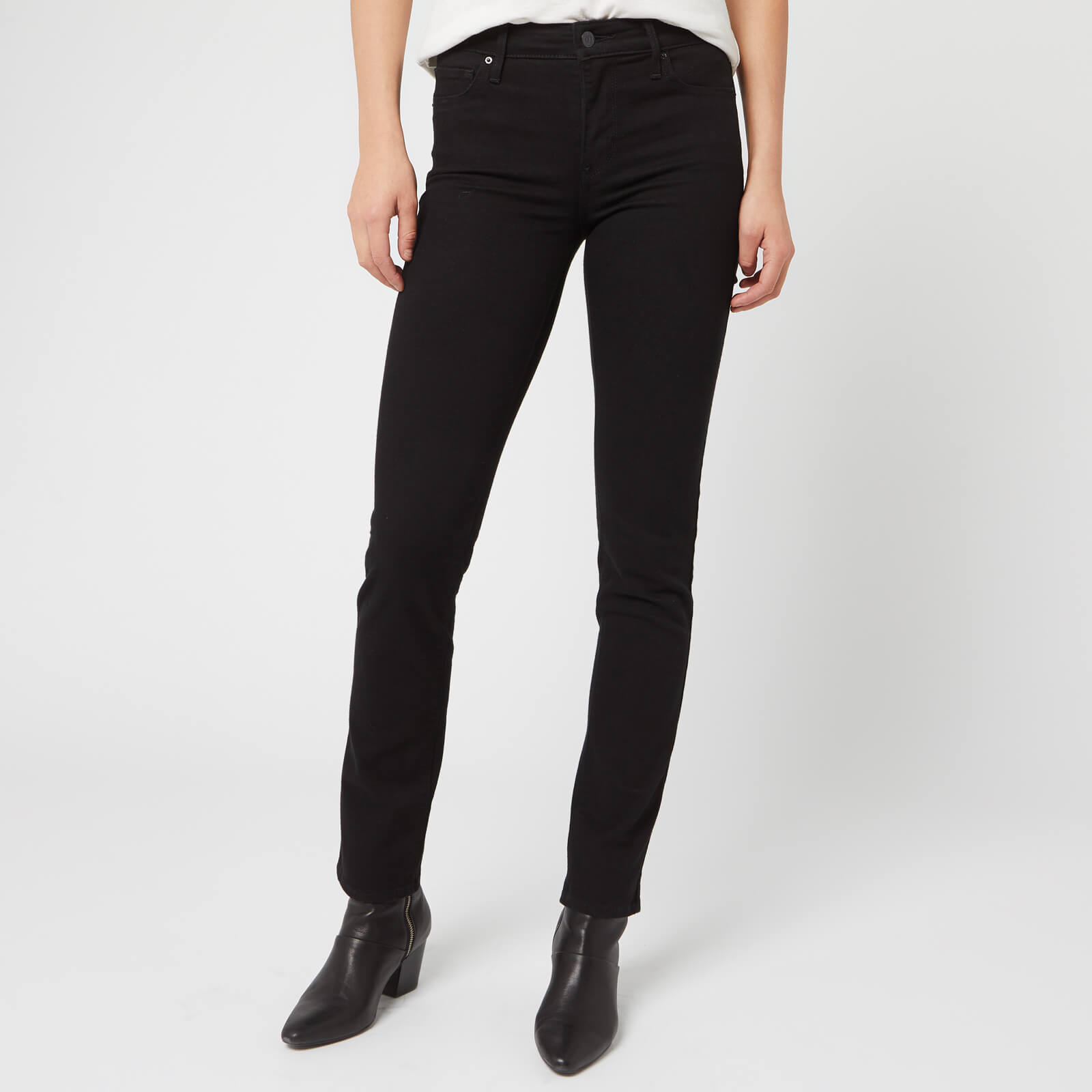 badb8c3b Levi's Women's 712 Slim Jeans - Black Sheep Clothing | TheHut.com