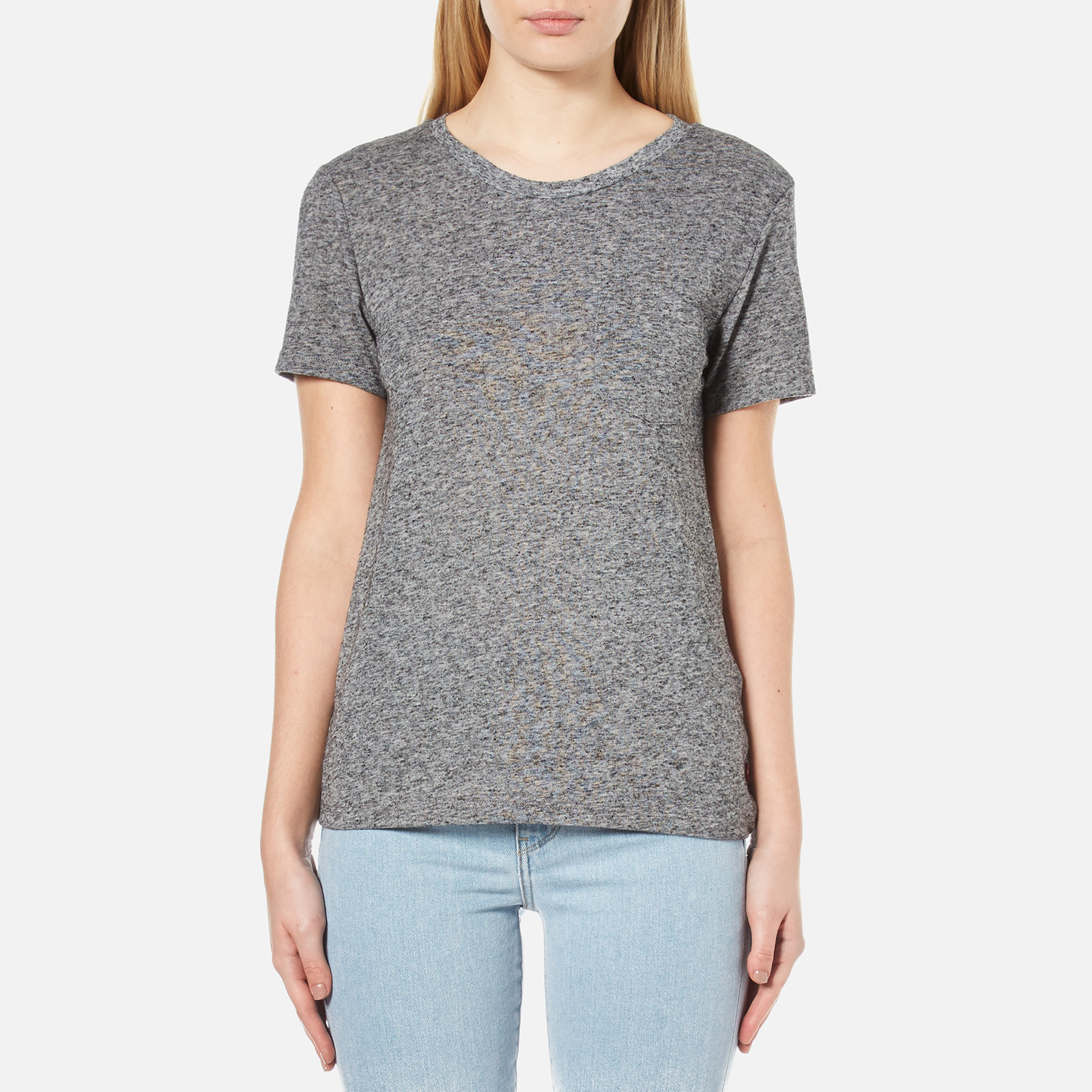 fcef90ac688b Levi's Women's The Perfect Pocket T-Shirt - Francisco Sky Heather - Free UK  Delivery over £50
