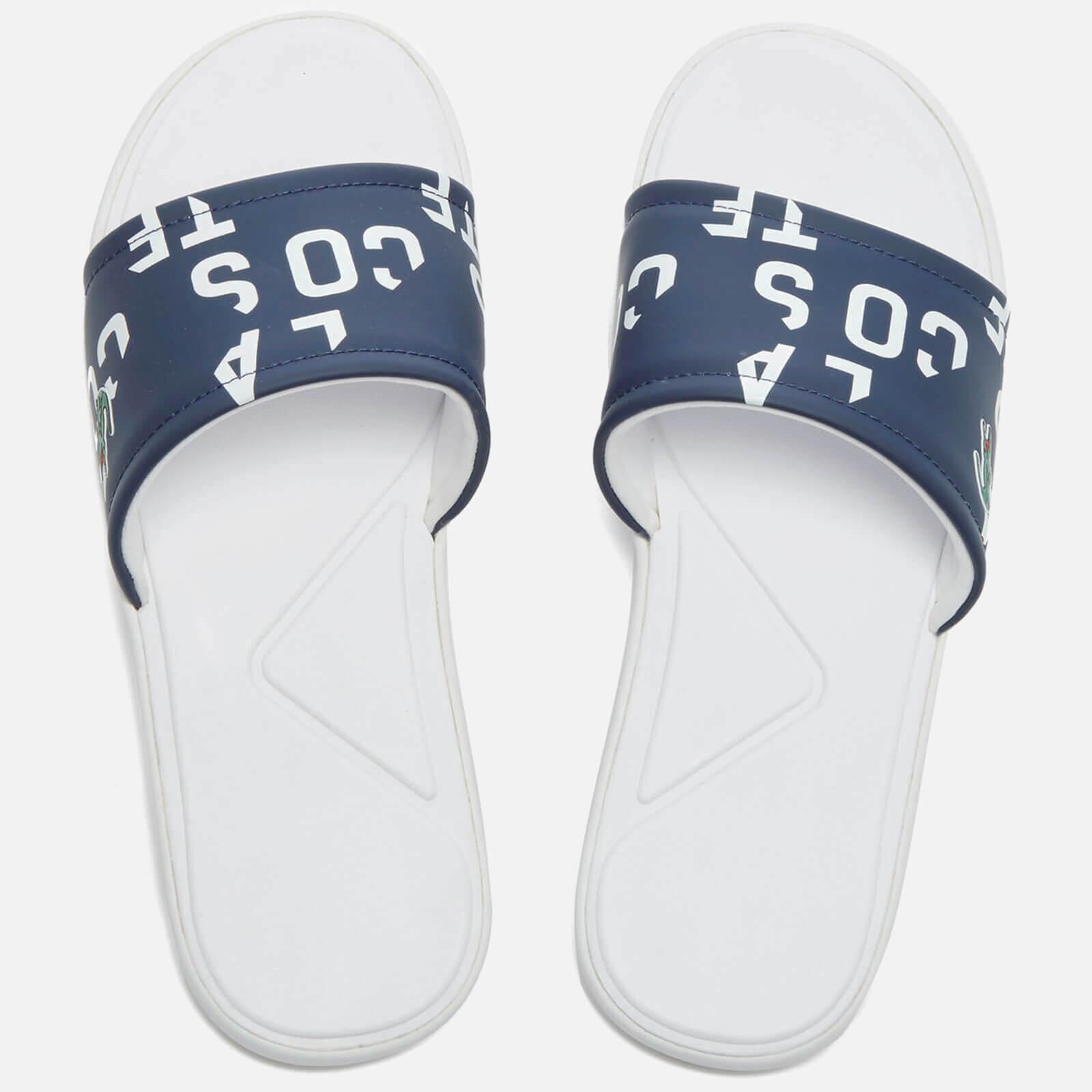 3f84ec9ddc61 Lacoste Men s L.30 Slide 117 2 Slide Sandals - Navy Mens Footwear ...