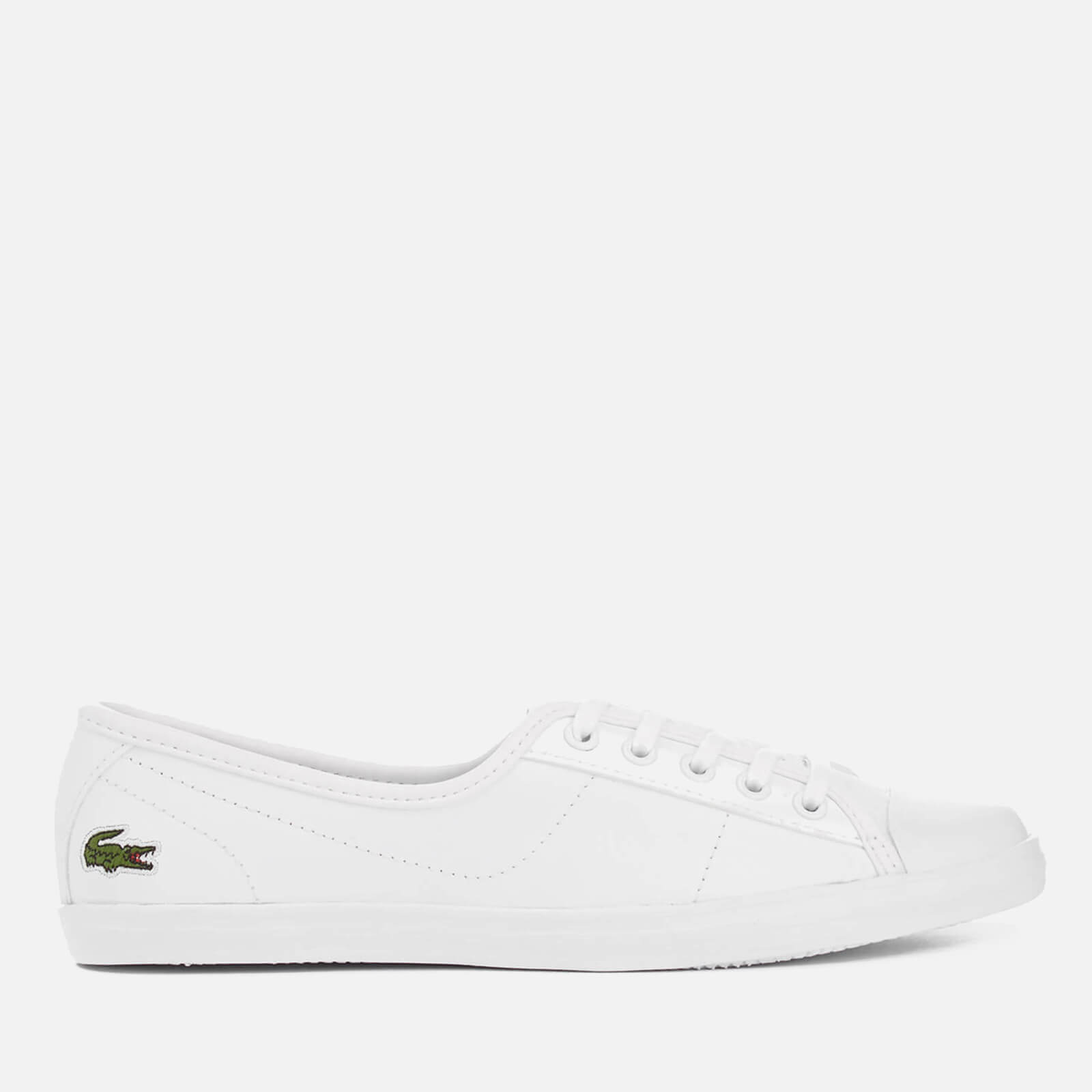 many styles choose latest finest fabrics Lacoste Women's Ziane Bl 1 Leather Lace Up Pumps - White