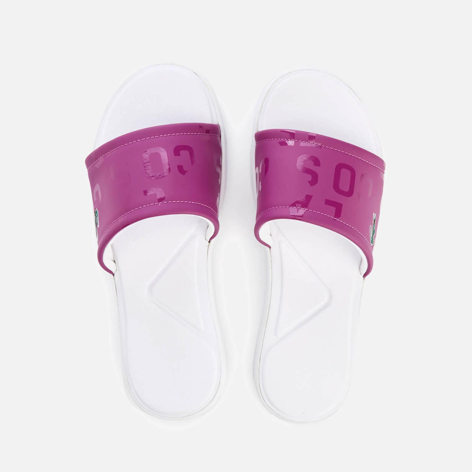 7177954f777922 Lacoste Women s L.30 Slide 117 1 Slide Sandals - Purple - Free UK Delivery  over £50