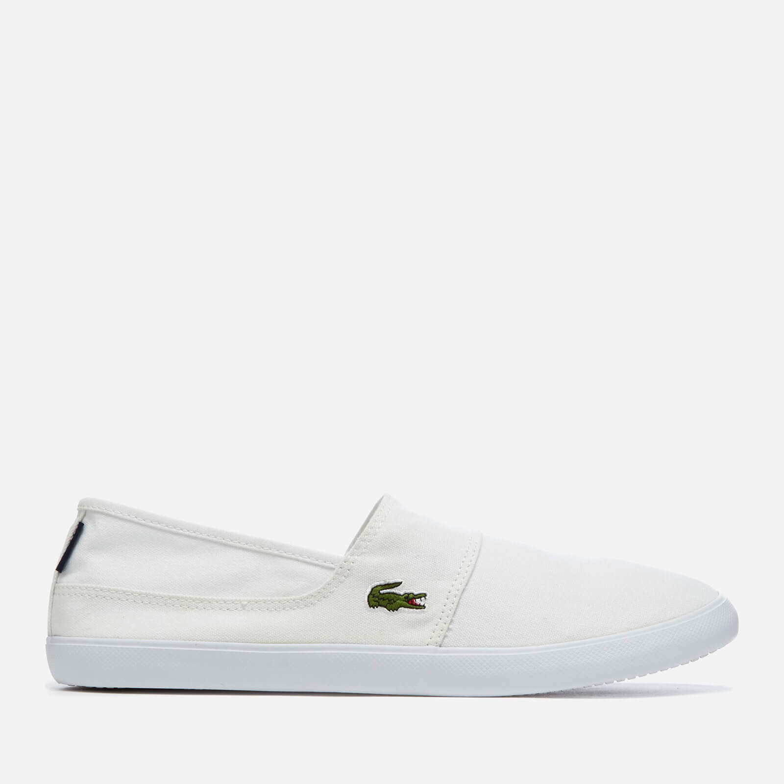 76d121713f27 Lacoste Men s Marice Bl 2 Canvas Slip-On Pumps - White Mens Footwear ...