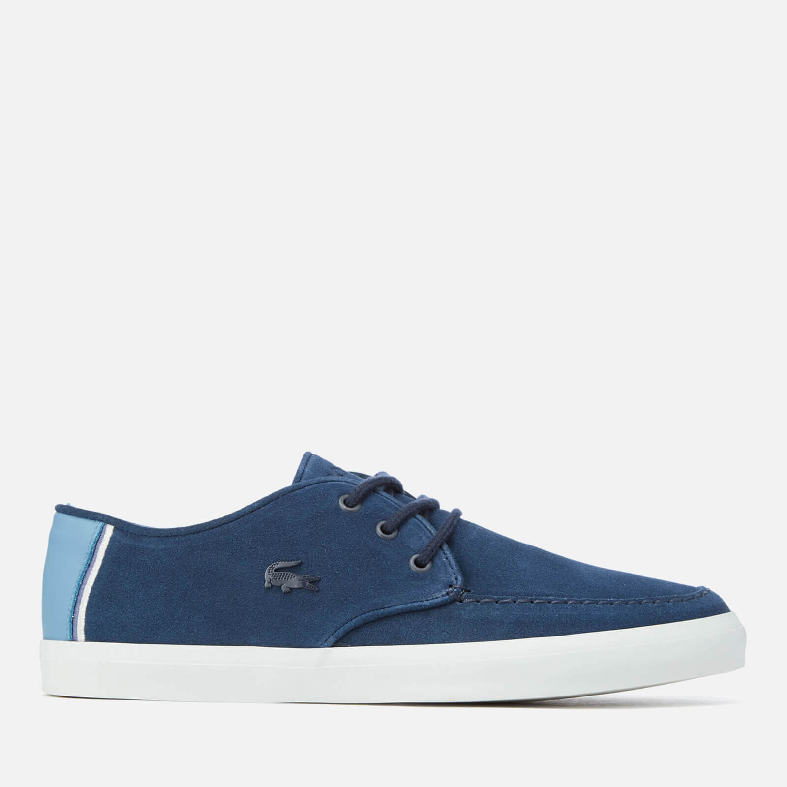 best sneakers 67a70 32a92 Lacoste Men s Sevrin 316 1 Suede Boat Shoes - Navy - Free UK Delivery over  £50