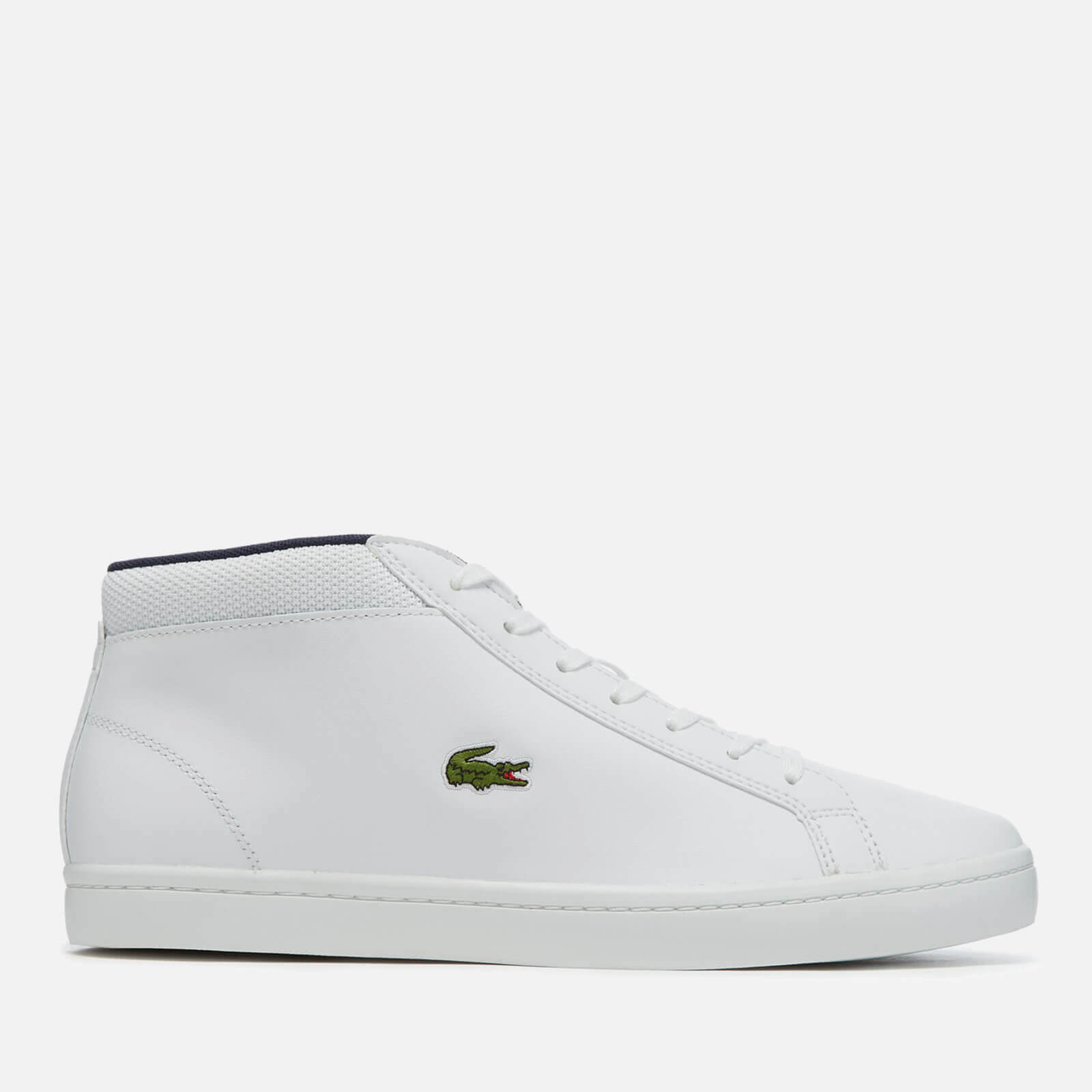 590e8e759347 ... Lacoste Men s Straightset SP Chukka 117 1 Leather Mid-Top Trainers -  White