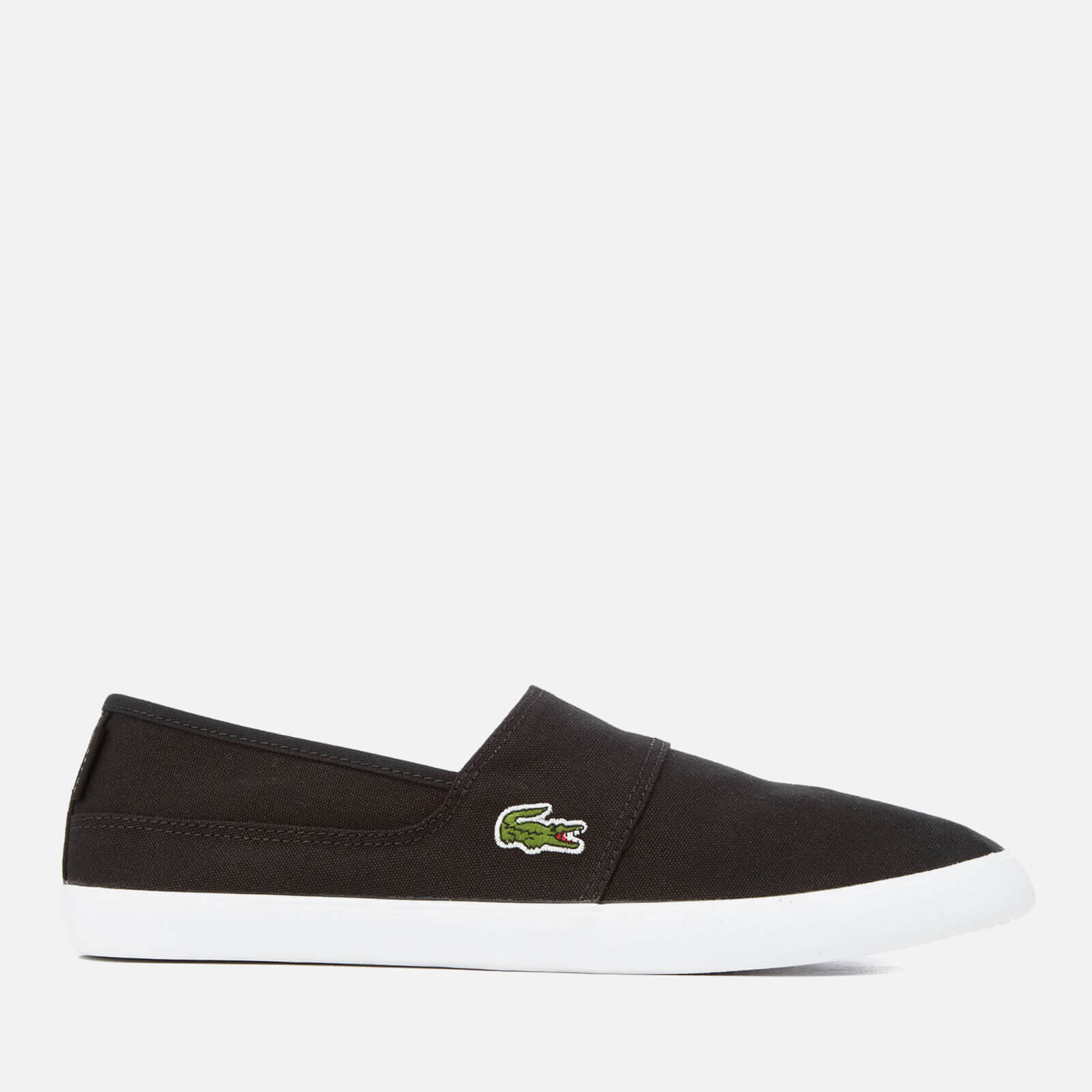 bcf8c5efa Lacoste Men s Marice Canvas Slip-On Pumps - Black - Free UK Delivery over £ 50