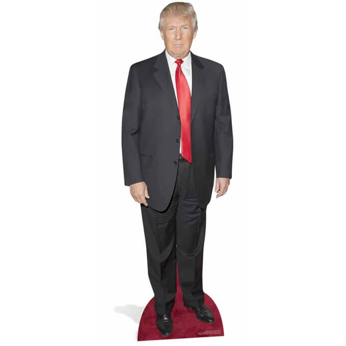 Donald Trump on Red Carpet Life Size Cut Out