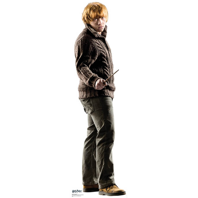 Harry Potter Ron Weasley Life Size Cut Out
