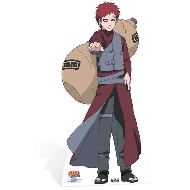 Naruto Gaara Life Size Cut Out