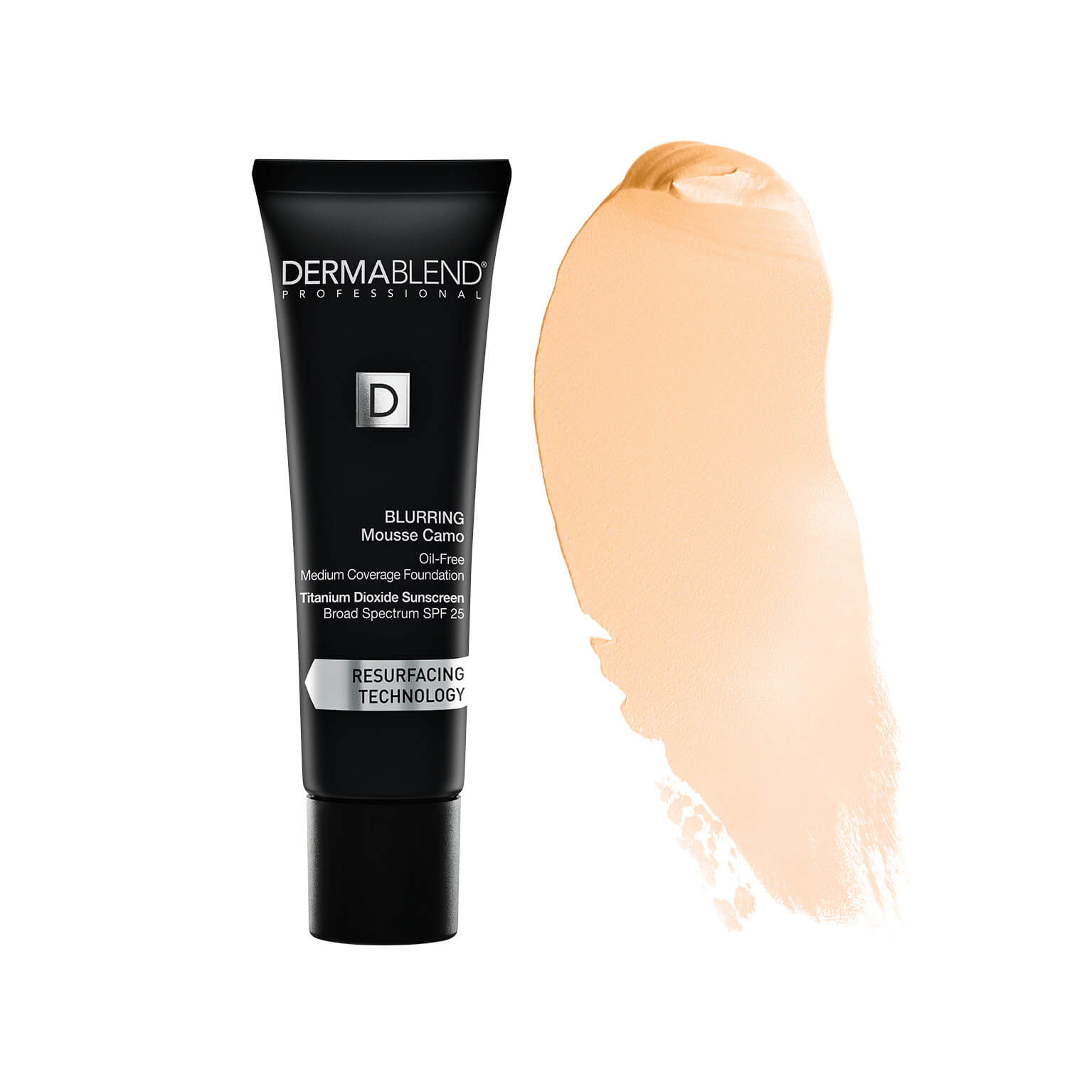 Dermablend Blurring Mousse Foundation Make-Up with SPF25 for Oil-Free Medium to High Coverage (Various Shades)