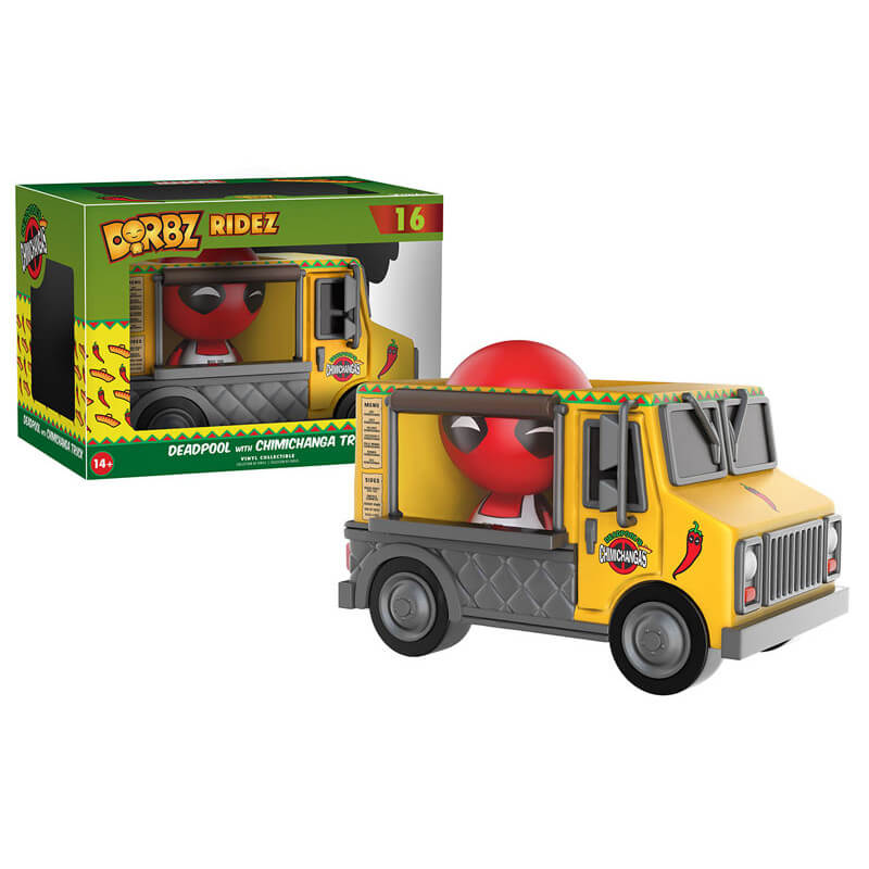 Figurine Dorbz Ride Van Deadpool Chimichanga