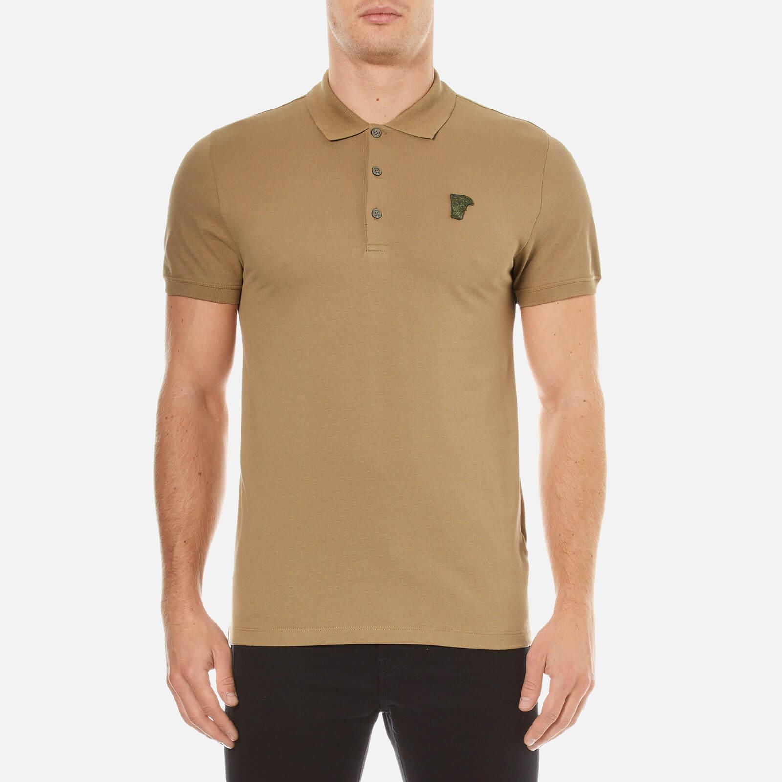 2637da11 Versace Collection Men's Pique Polo Shirt - Verde - Free UK Delivery over  £50