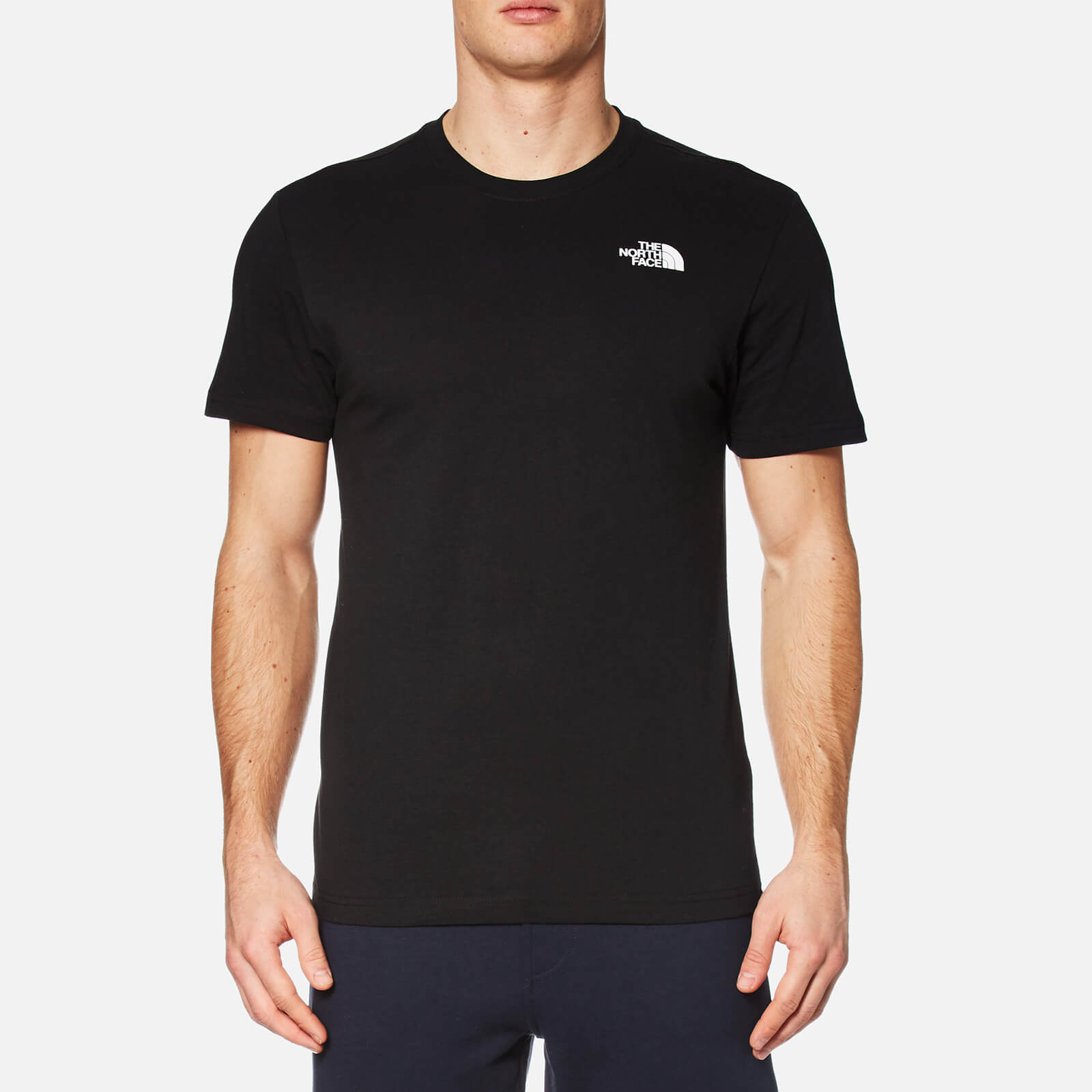 102b9aad2 The North Face Men's Redbox Short Sleeve T-Shirt - TNF Black