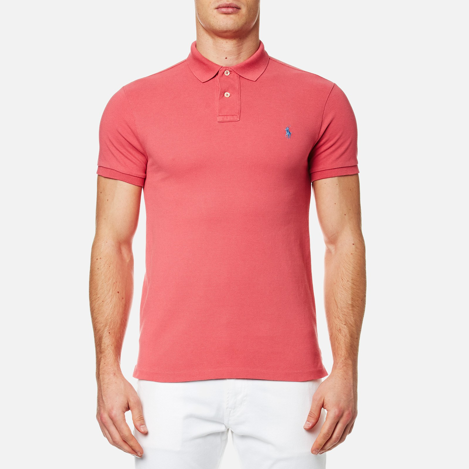 11004937 Polo Ralph Lauren Men's Slim Fit Polo Shirt - Winslow Red - Free UK  Delivery over £50
