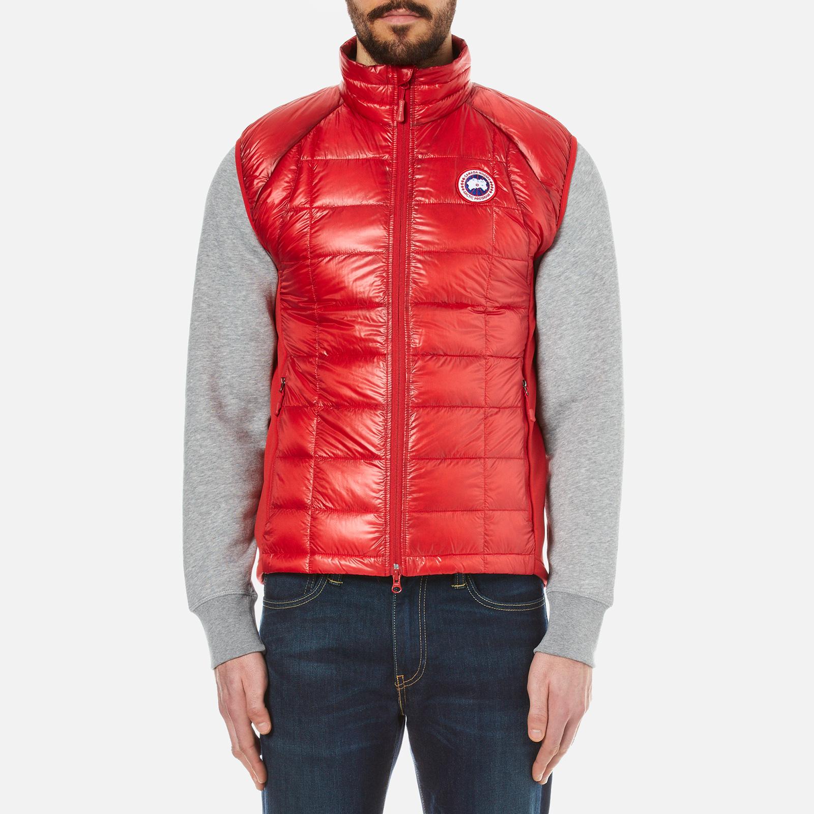 97b73536b04f Canada Goose Men s Hybridge Lite Vest - Red - Free UK Delivery over £50