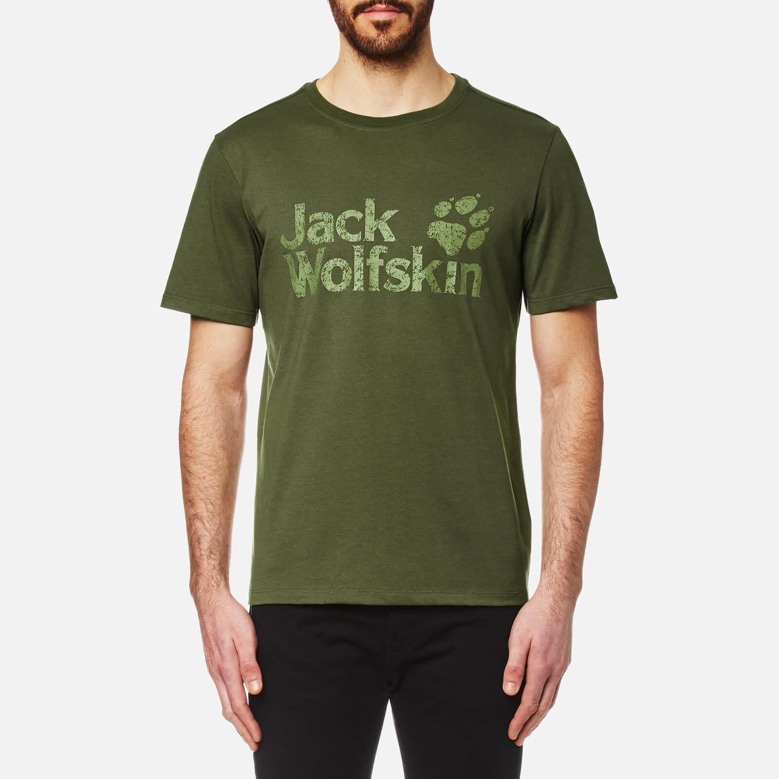 45eccab0465 Jack Wolfskin Men's Pride Function 65 T-Shirt - Burnt Olive Clothing |  TheHut.com