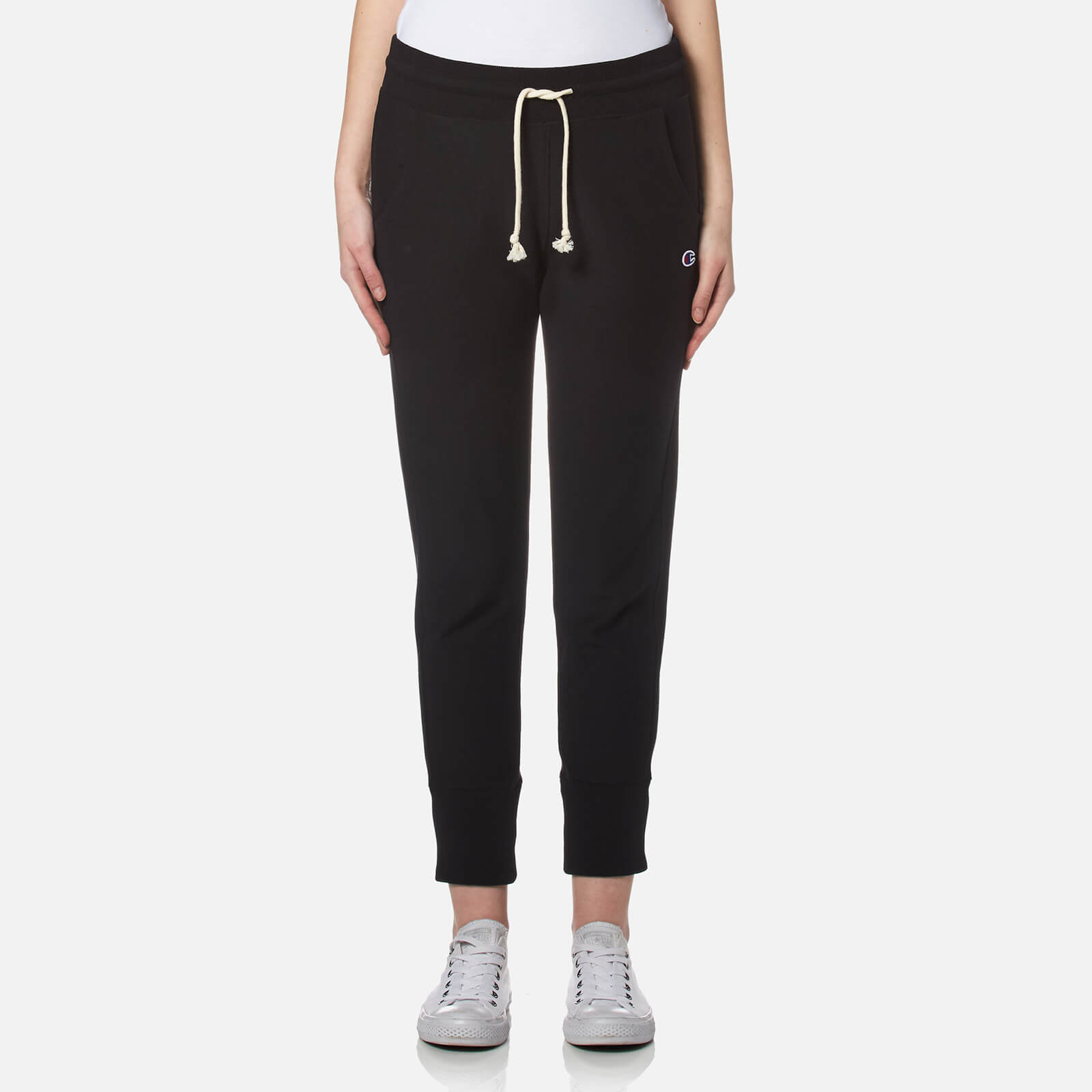 029b5f3b96f7 Champion Women s Rib Cuff Pants - Black - Free UK Delivery over £50