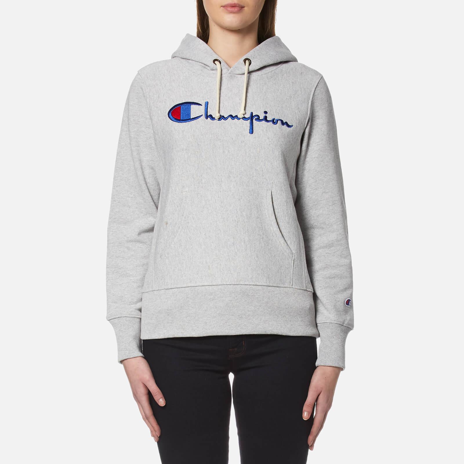 32f64ac4ca6a5 Champion Women s Hooded Sweatshirt - Grey Champion Women s Hooded Sweatshirt  - Grey