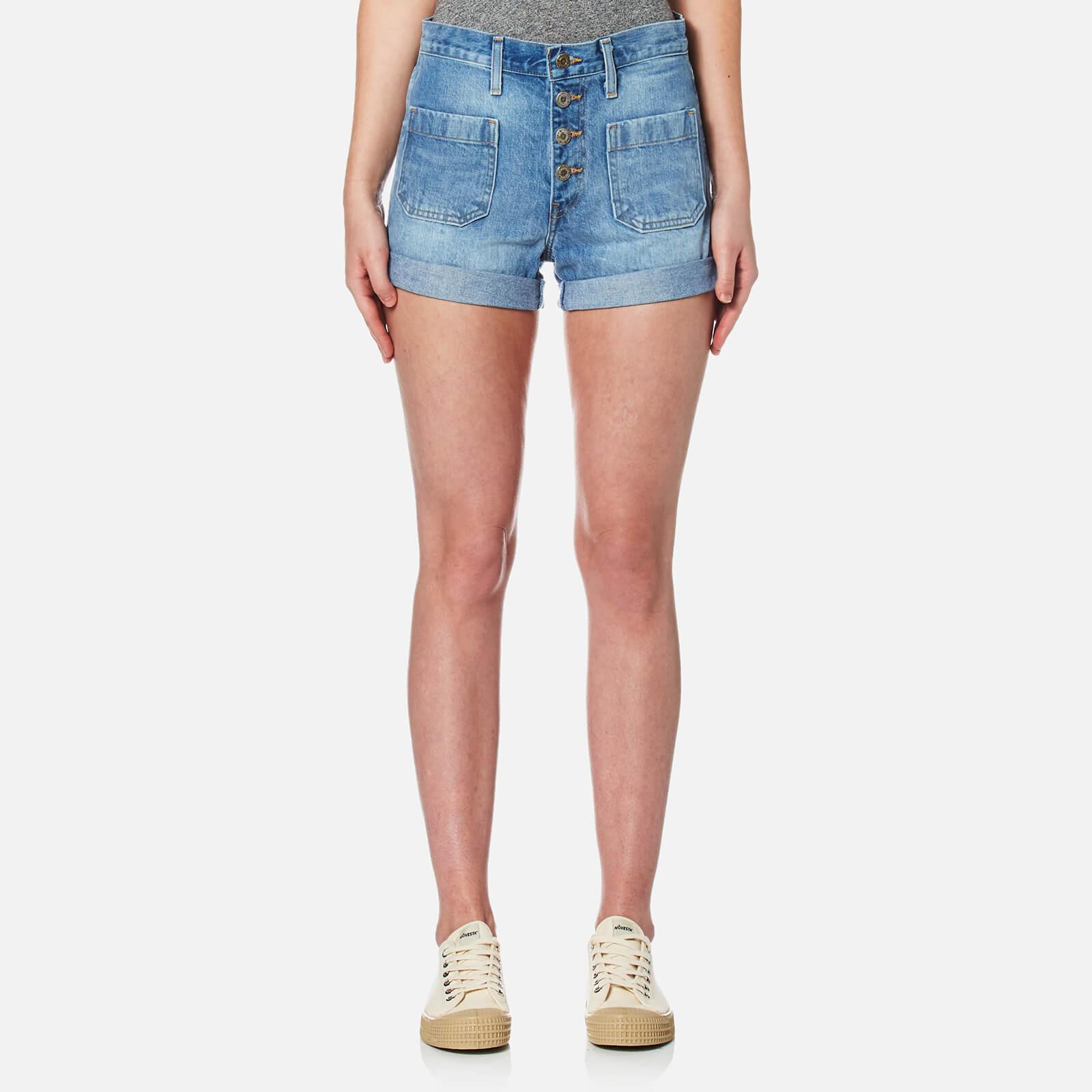 94b80c43 Levi's Women's Orange Tab Shorts - Kerouac Effect Womens Clothing    TheHut.com