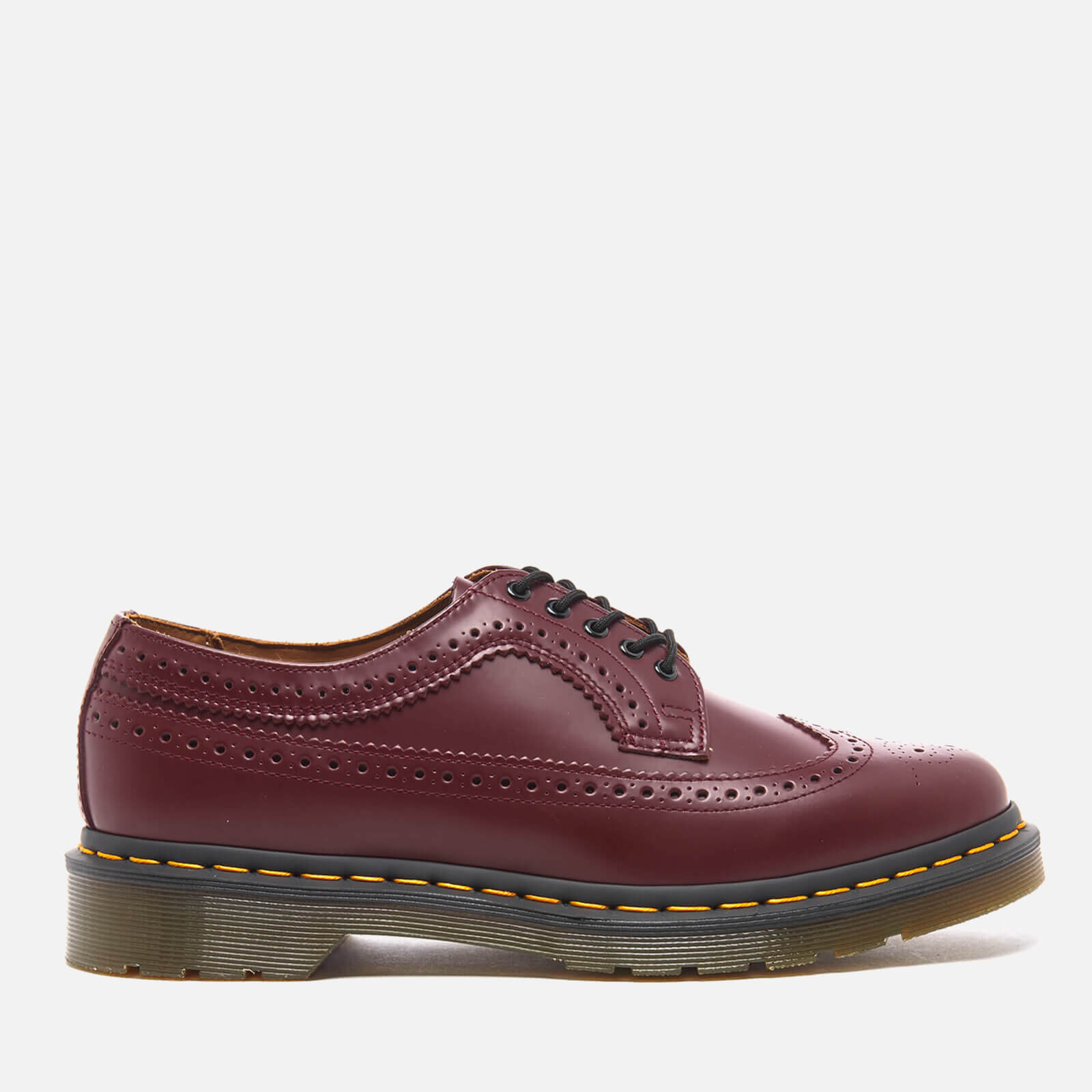 7e74a43c3c38 Dr. Martens Men's 3989 Original Archives Smooth Wingtip Brogues - Cherry  Red - Free UK Delivery over £50