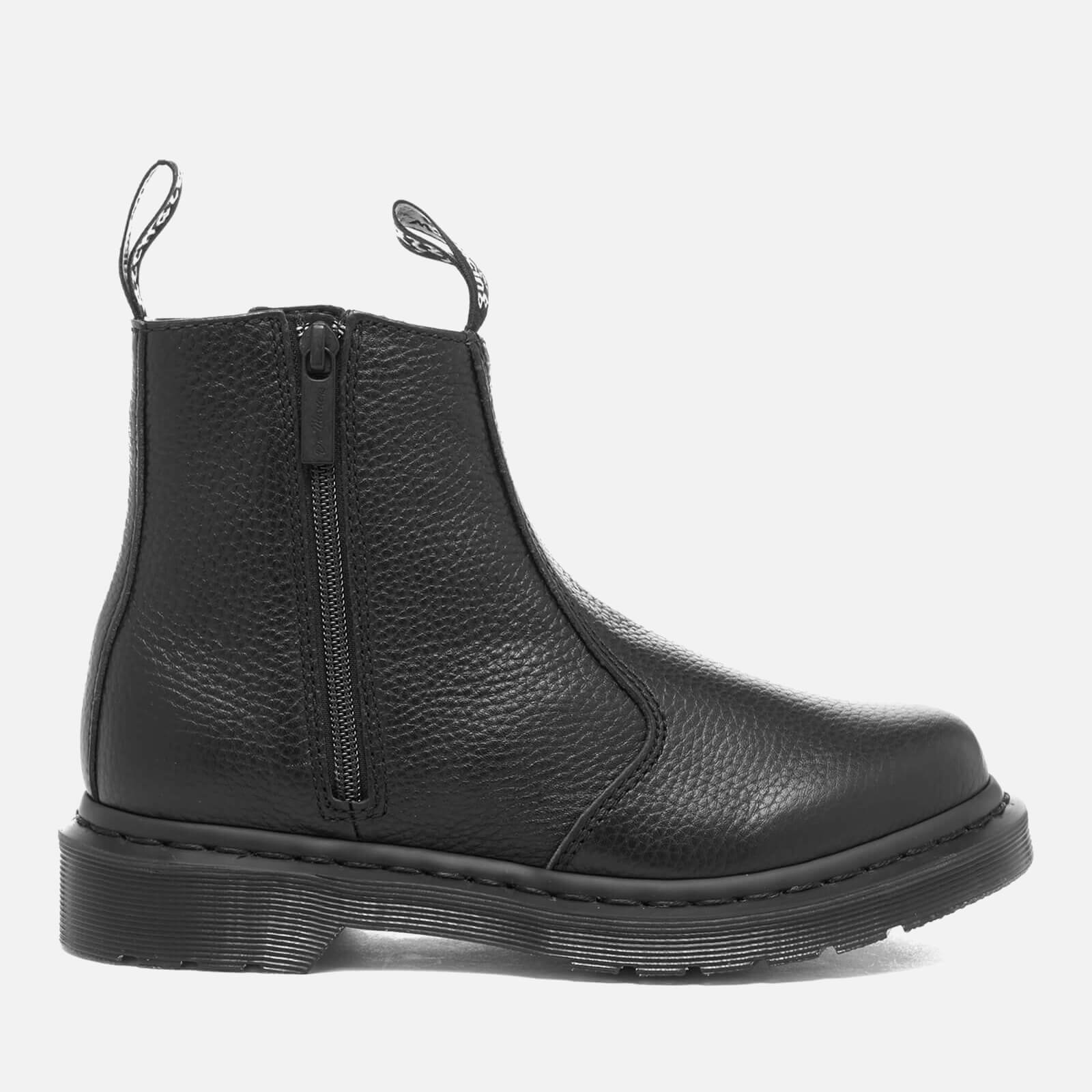 elegant and sturdy package more photos online sale Dr. Martens Women's 2976 Aunt Sally Leather Zip Chelsea Boots - Black