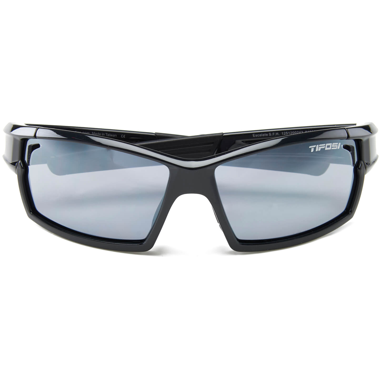 Tifosi Pro Escalate Shield & Full Sunglasses - Gloss Black/Smoke