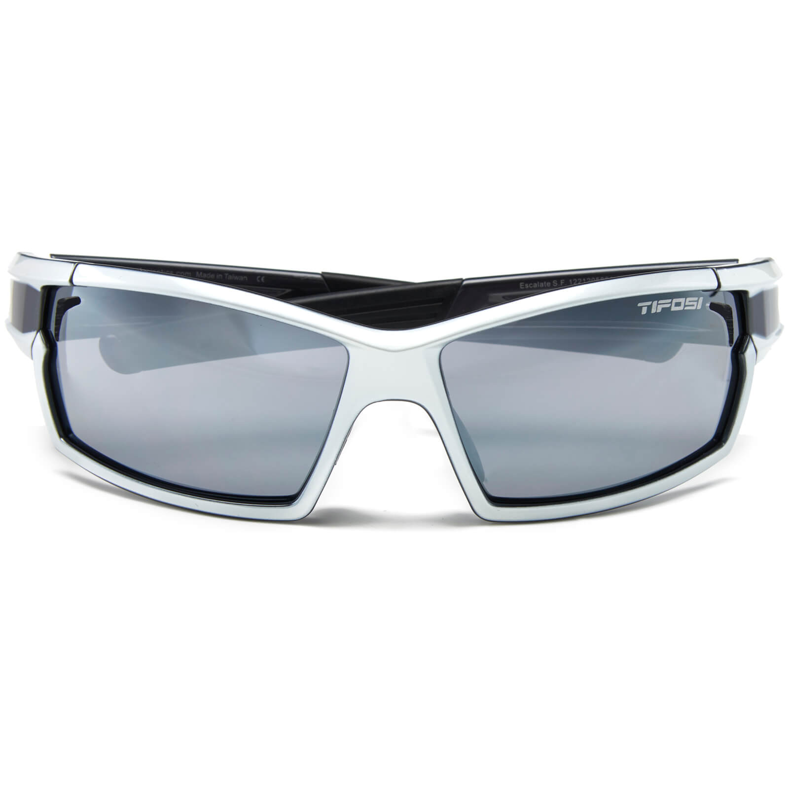 Tifosi Pro Escalate Shield & Full Sunglasses - Pearl White/Gun Metal