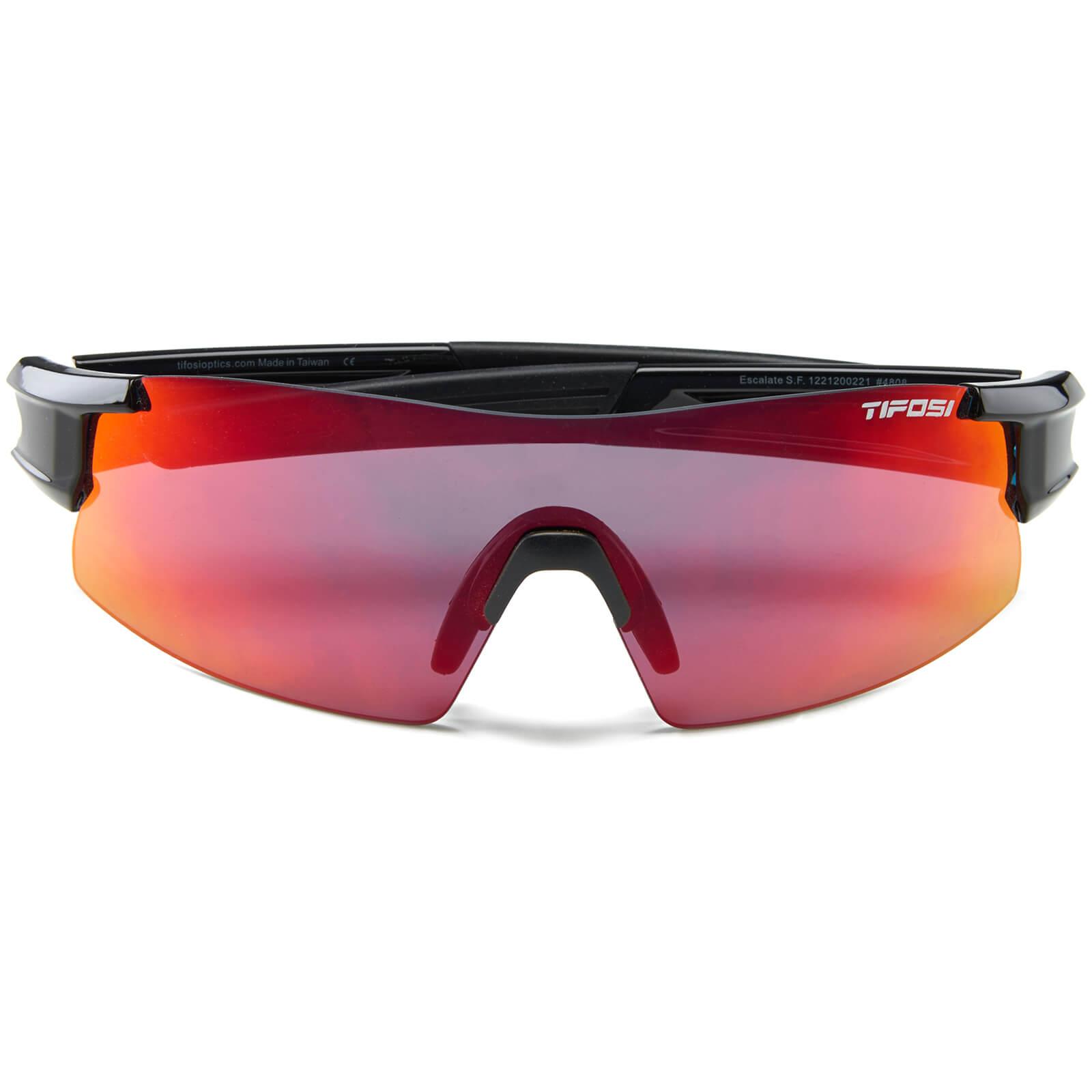 c4208ce9c8 Tifosi Pro Escalate Shield   Full Sunglasses - Gloss Black Clarion Red