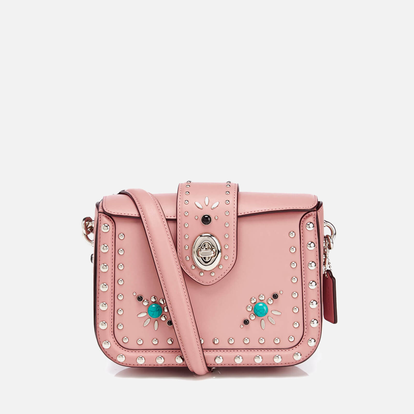 1f718ec406 Coach Women s Page Cross Body Bag - Pink - Free UK Delivery over £50