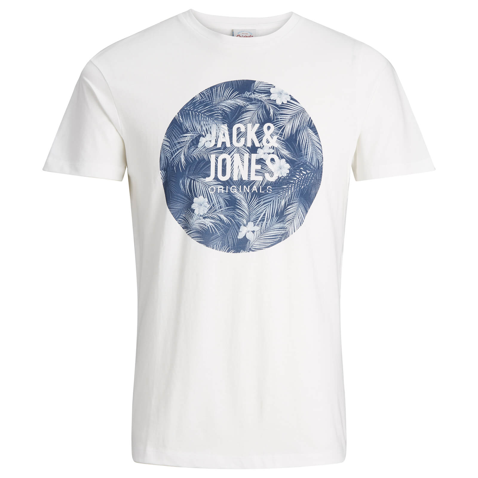 T-Shirt Homme Originals Newport Jack & Jones -Blanc