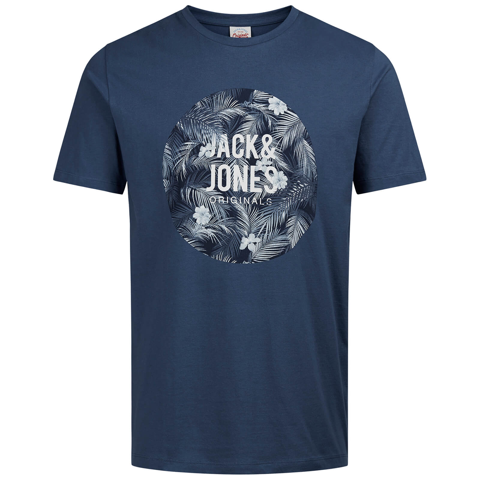 T-Shirt Homme Originals Newport Jack & Jones - Bleu