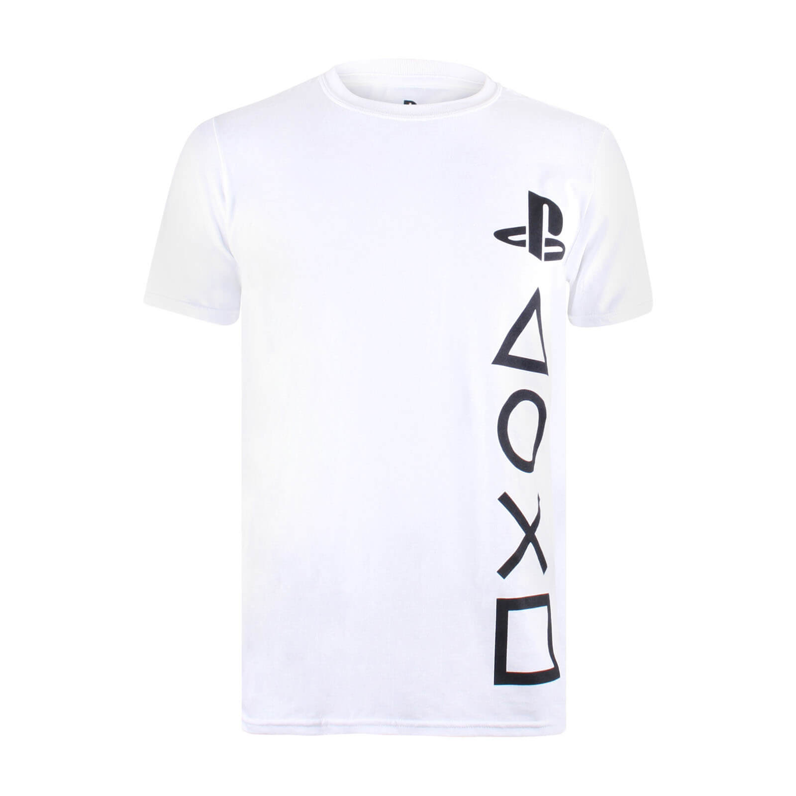 T-Shirt Homme Symboles PlayStation - Blanc