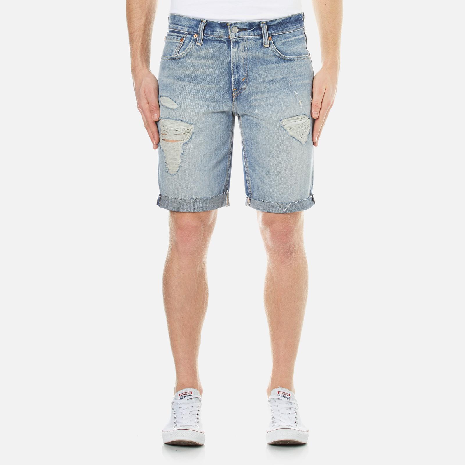 76fce327 Levi's Men's 511 Slim Cut Off Short Jeans - Surfside - Free UK Delivery  over £50