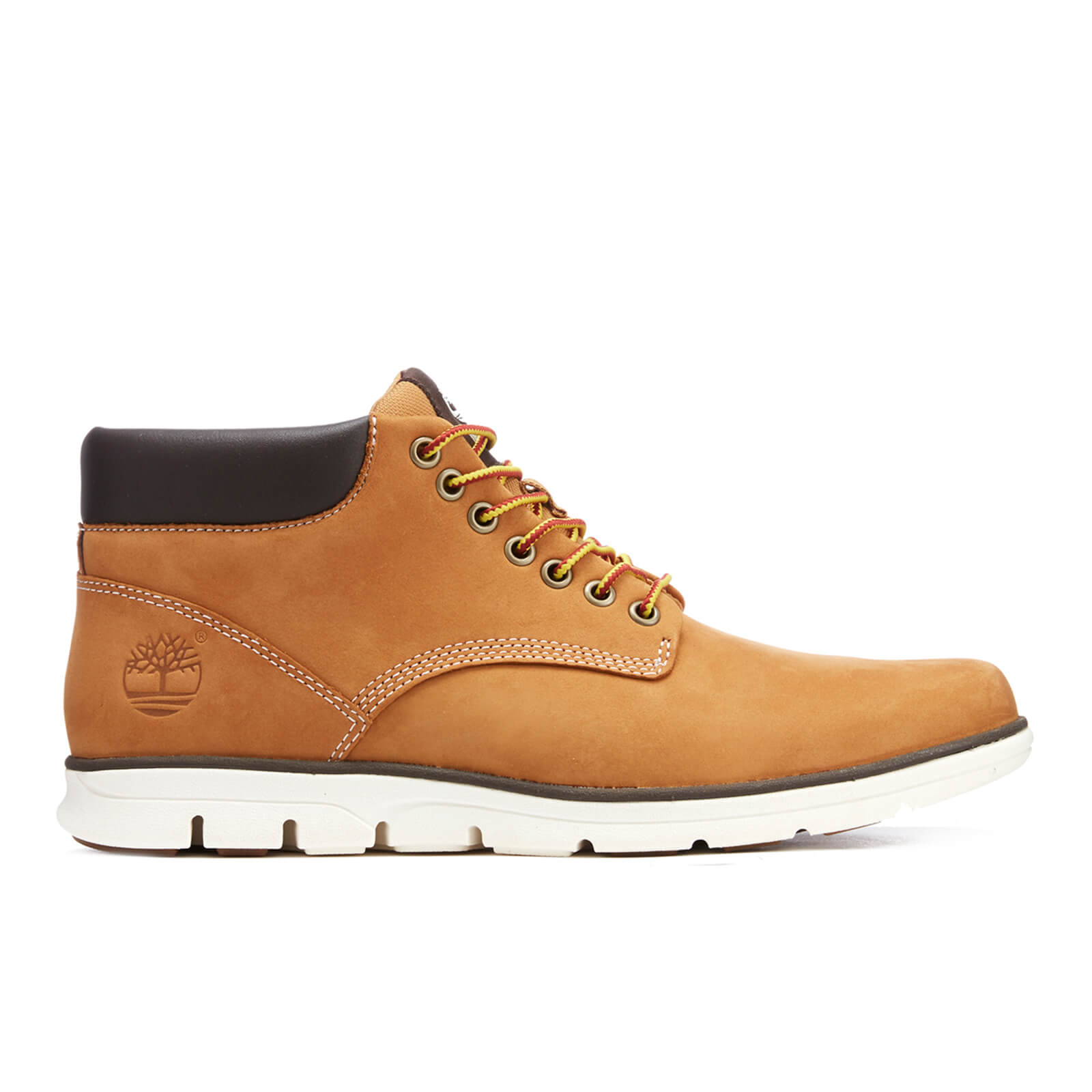 5bf1a13944be Timberland Men s Bradstreet Chukka Leather Boots - Wheat Mens Footwear