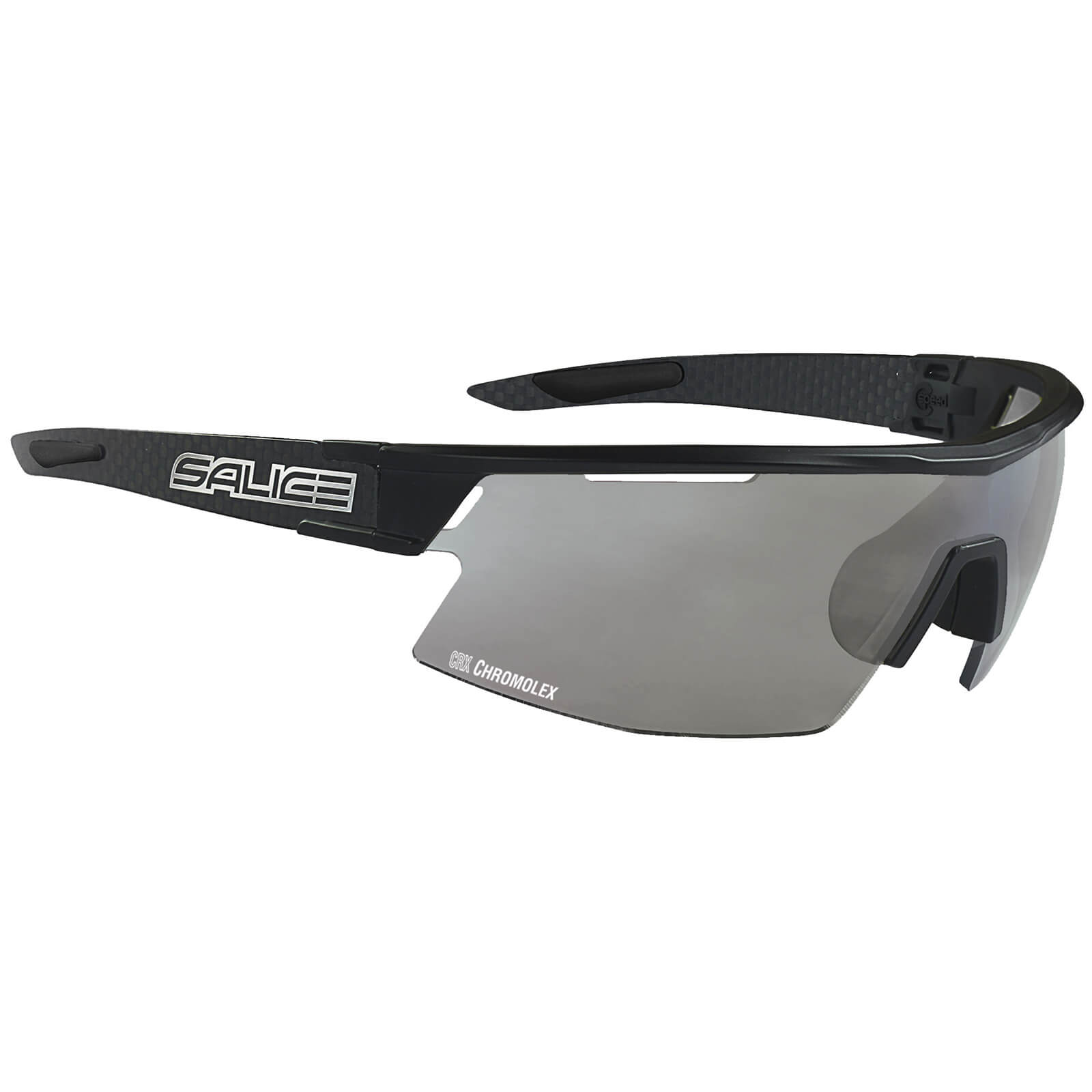Salice CSPEED CRX Photochromic Sunglasses - Black/Smoke