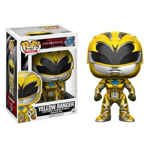 Power Rangers Movie Yellow Ranger Pop! Vinyl Figure